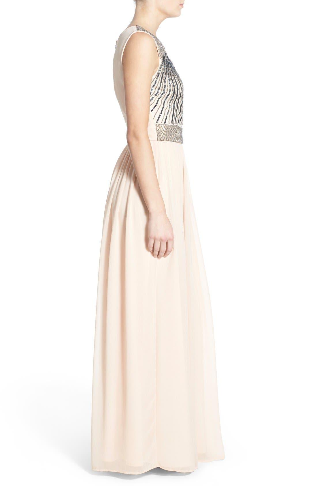 Alternate Image 3  - Lace & Beads 'Tina' Embellished Maxi Dress
