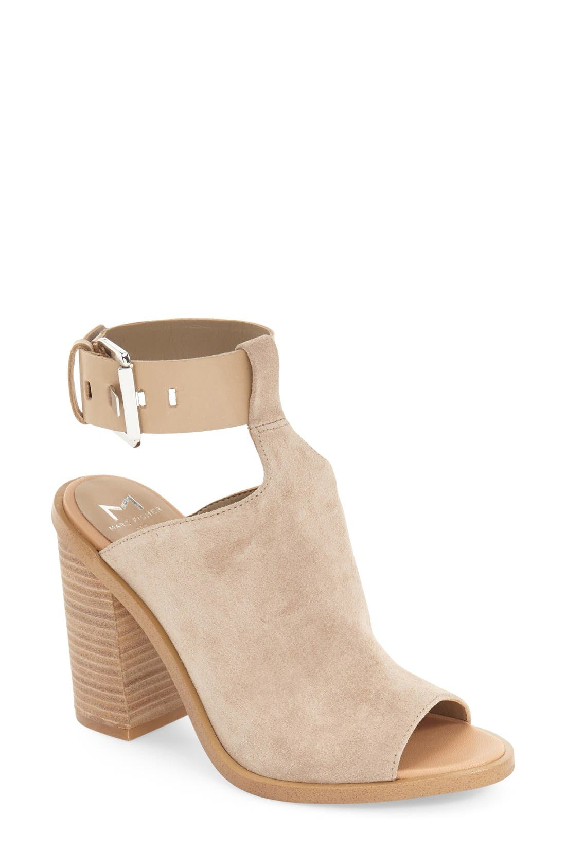 Main Image - Marc Fisher LTD Vashi Ankle Strap Sandal (Women)