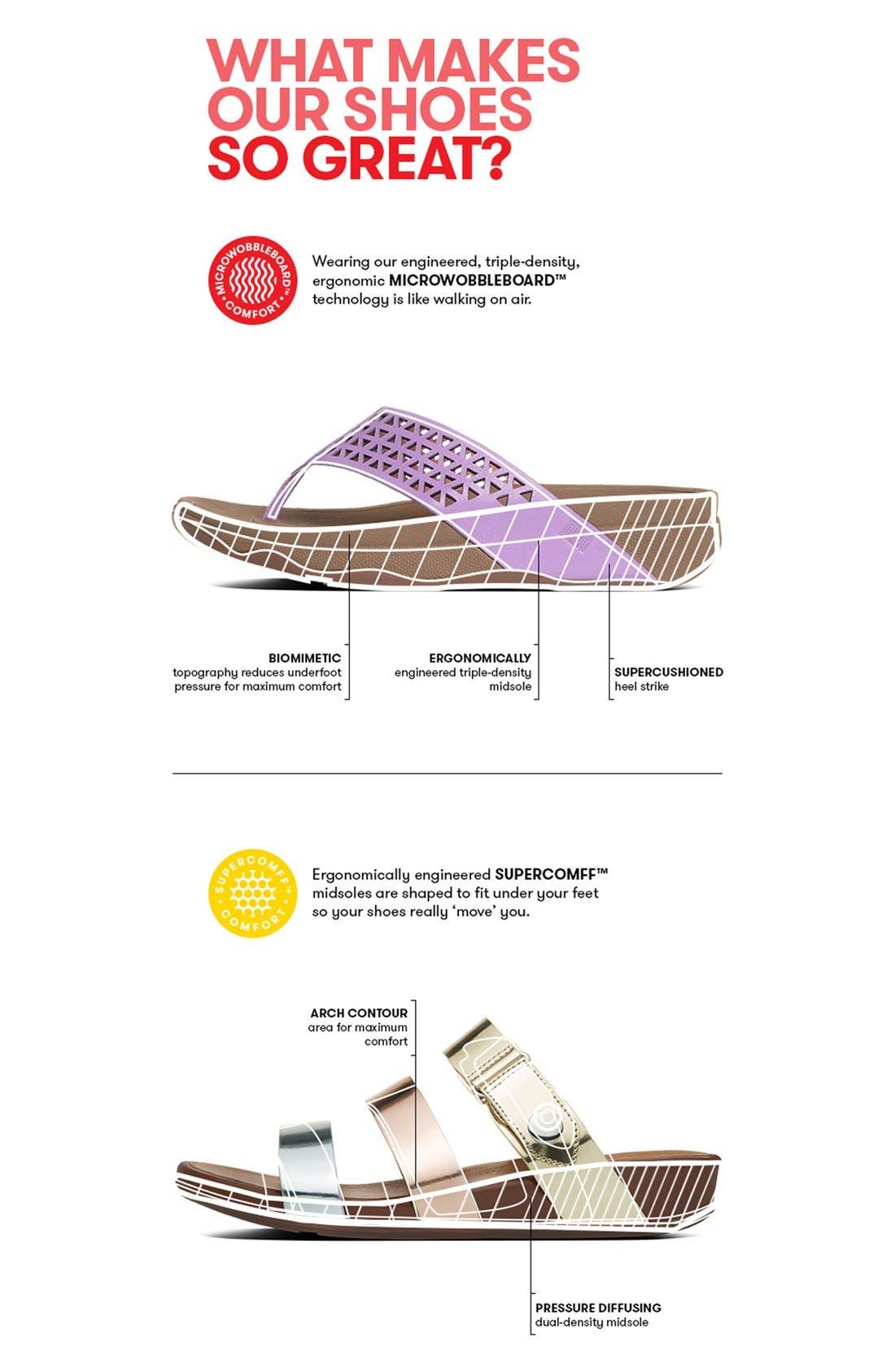 Alternate Image 5  - FitFlop™ 'Banda' Slide Sandal (Women)