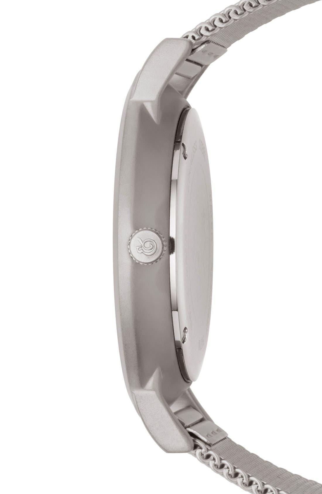 Alternate Image 3  - Larsson & Jennings Lugano Mesh Strap Watch, 40mm