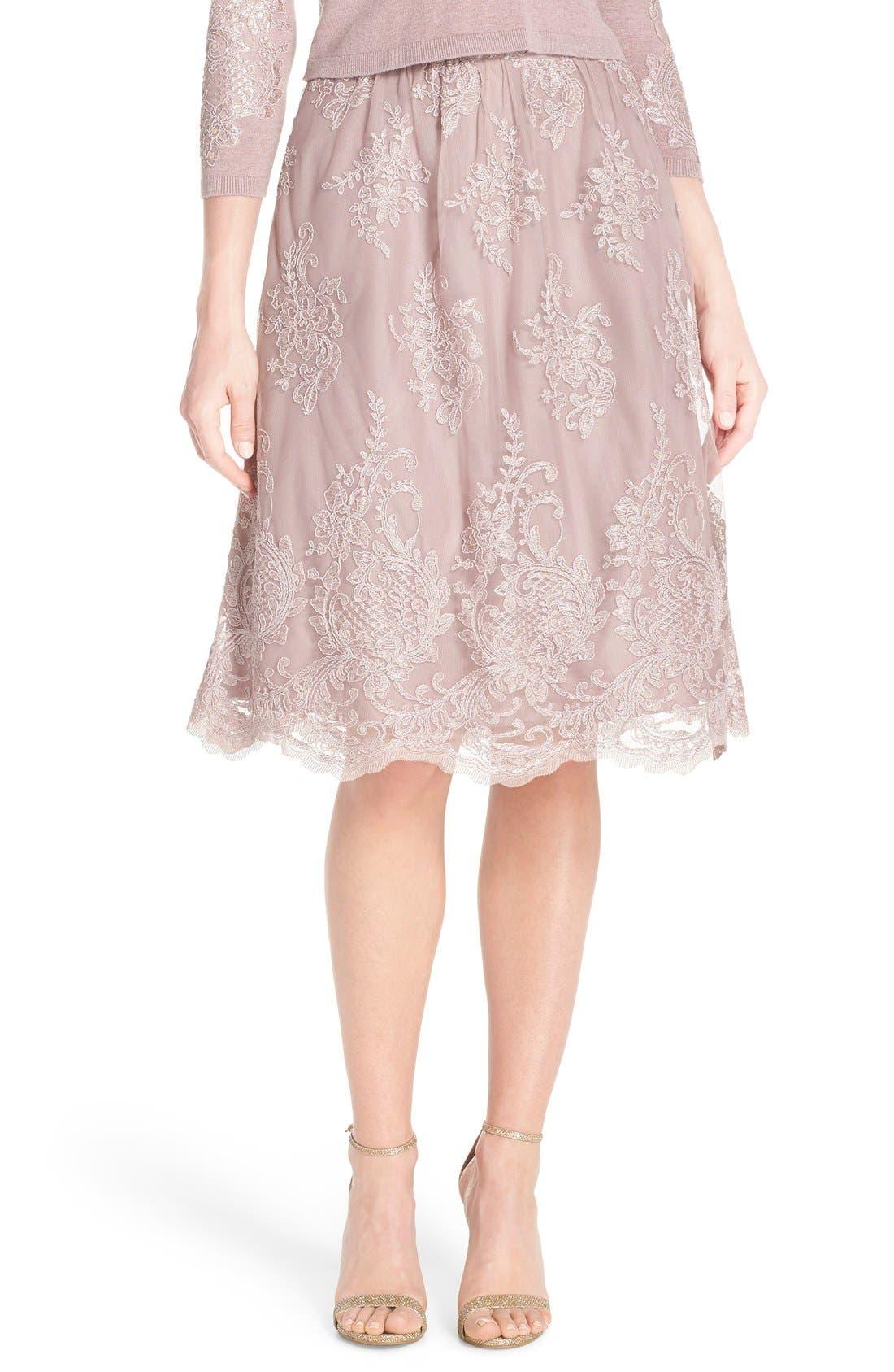 JENNY YOO 'Arianna' Lace Skirt