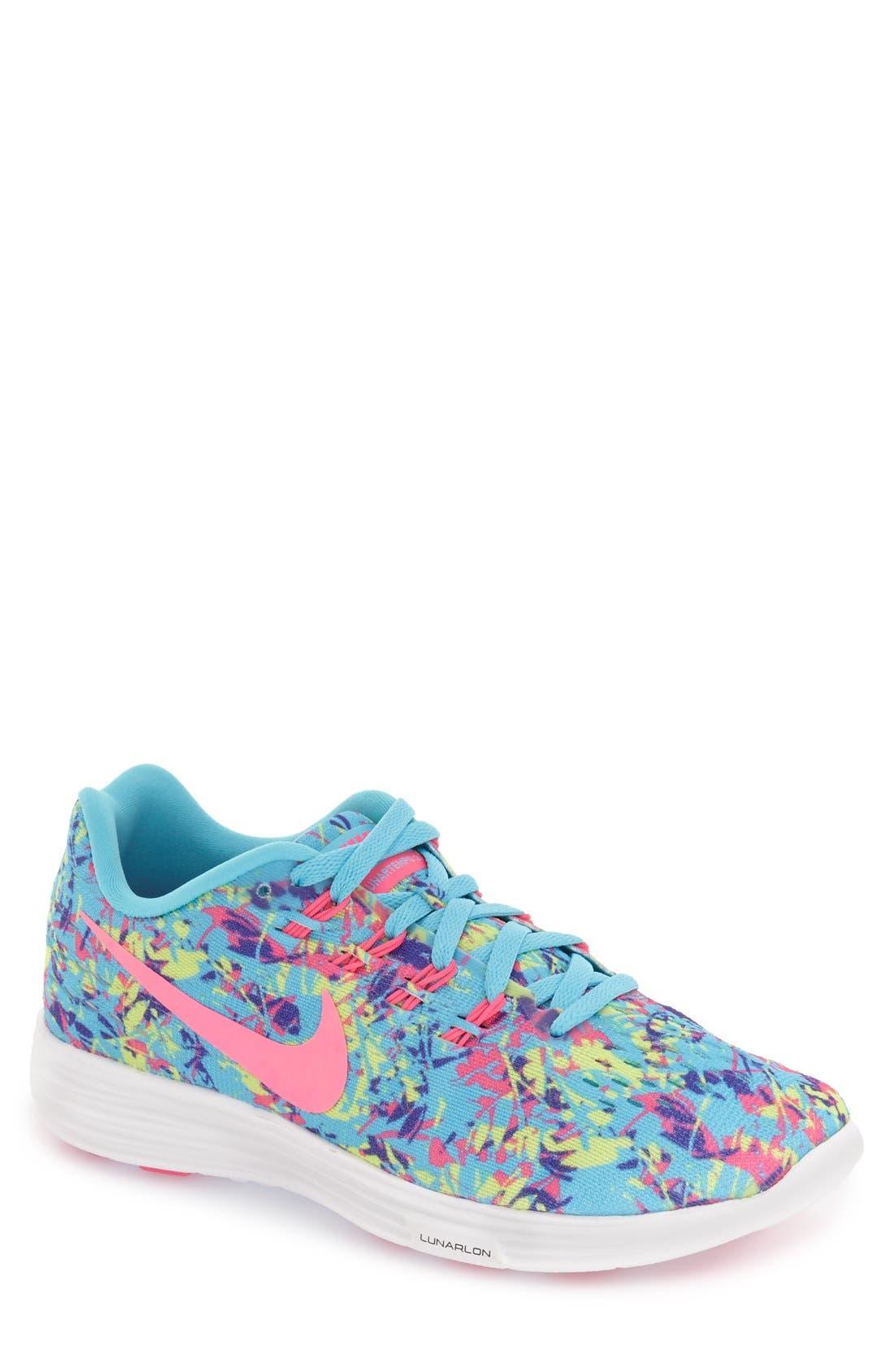 Alternate Image 1 Selected - Nike 'LunarTempo 2' Print Running Shoe (Women)