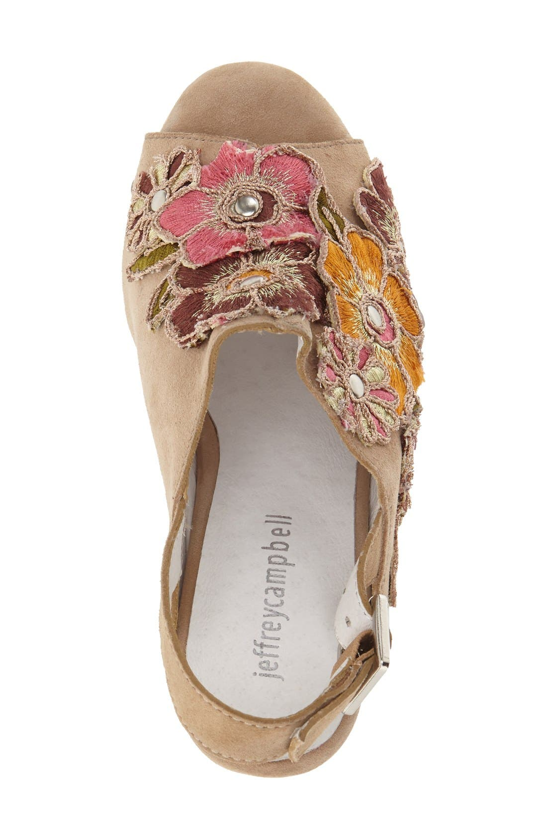 Alternate Image 3  - Jeffrey Campbell 'Vuelta' Platform Sandal (Women)