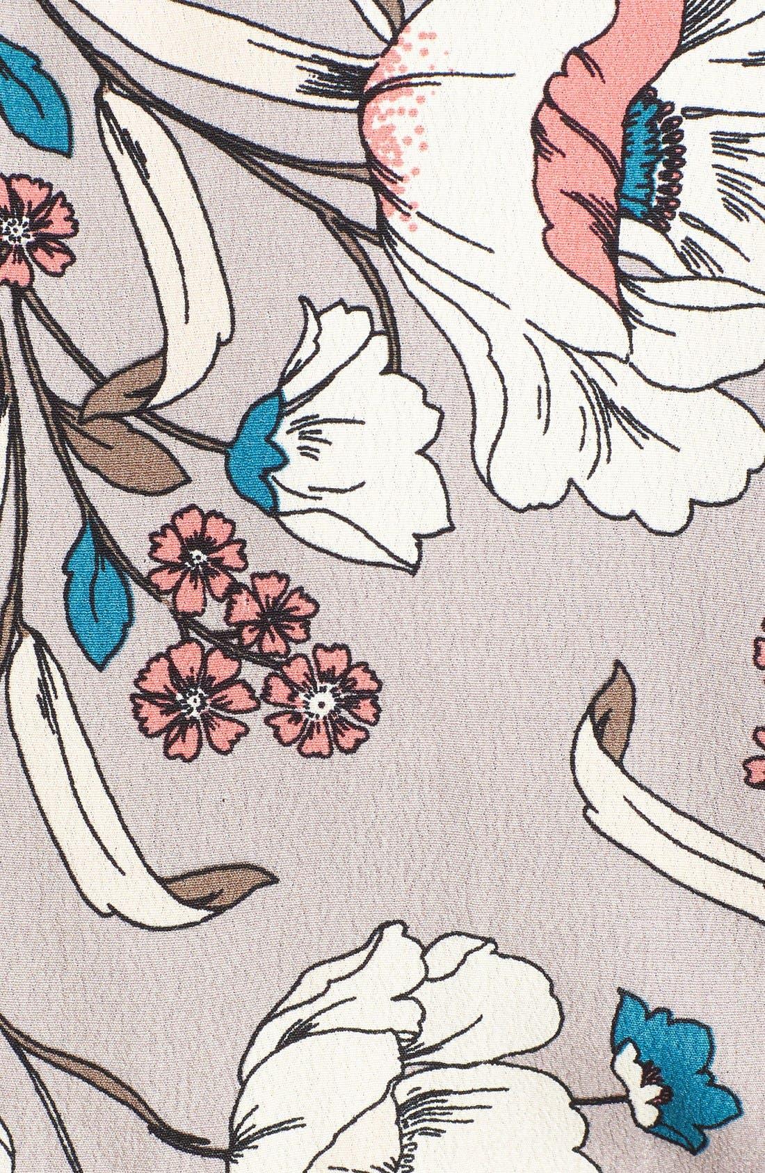 Alternate Image 5  - ASTR Floral Print Wrap Dress