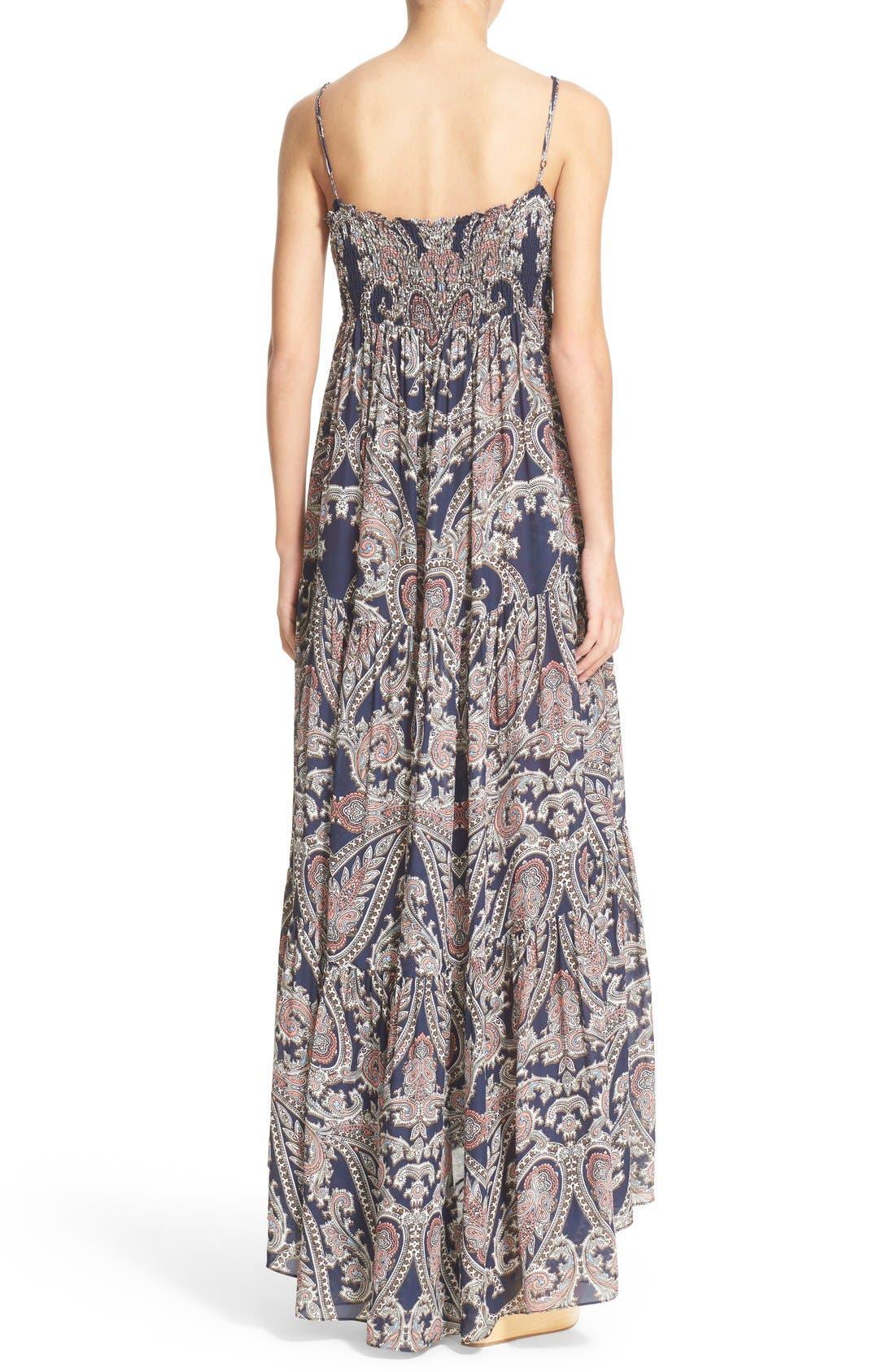 Alternate Image 2  - L'AGENCE 'Honor' Print Silk Maxi Dress