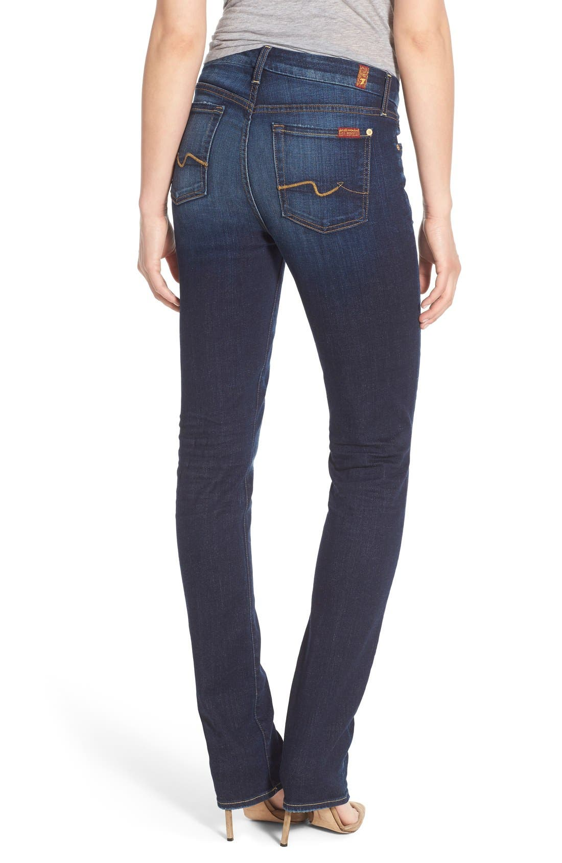 Alternate Image 2  - 7 For All Mankind® 'Kimmie' Straight Leg Jeans