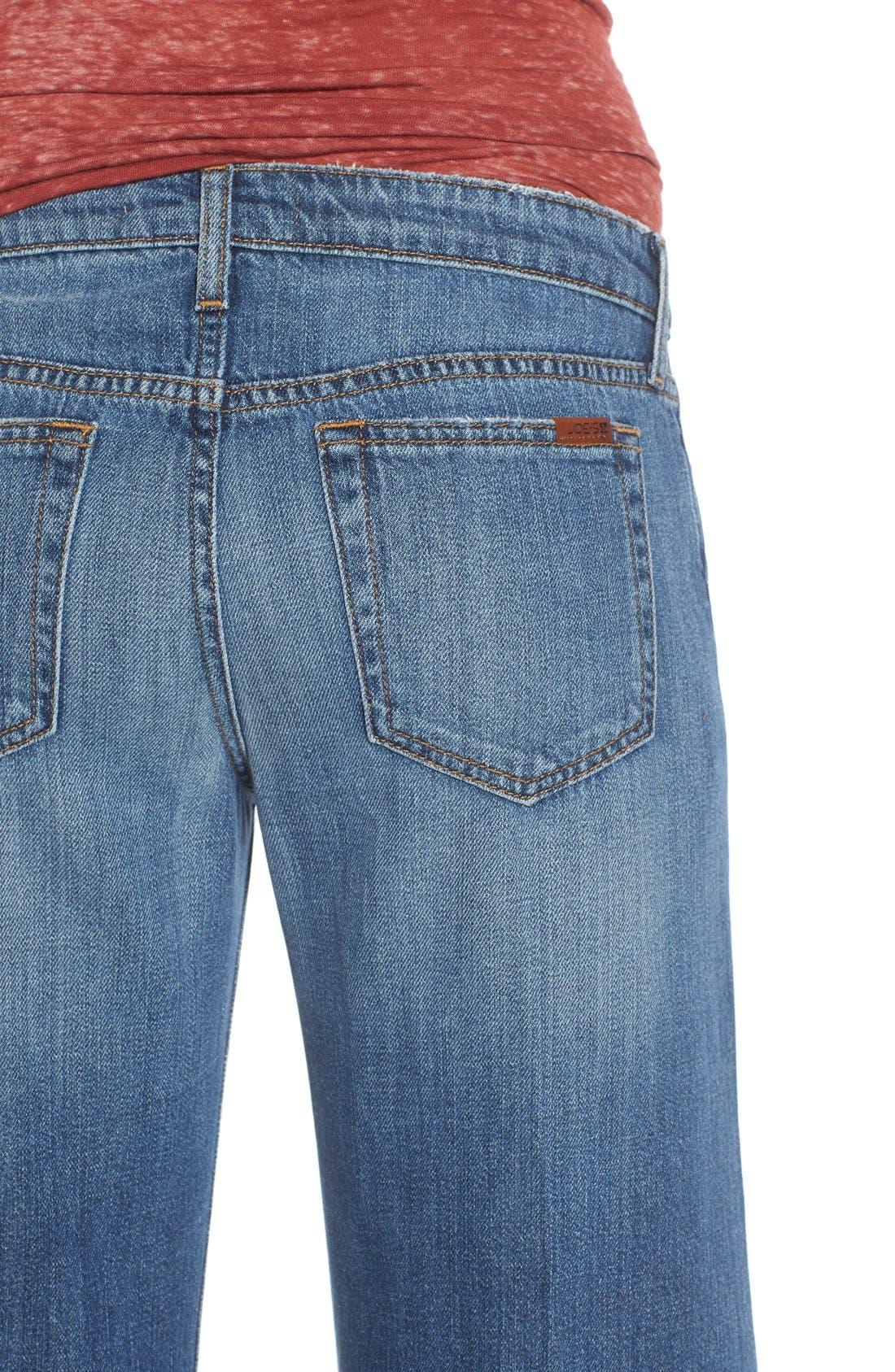 Alternate Image 4  - Joe's 'The Gaucho' Crop Flare Jeans (Edie)