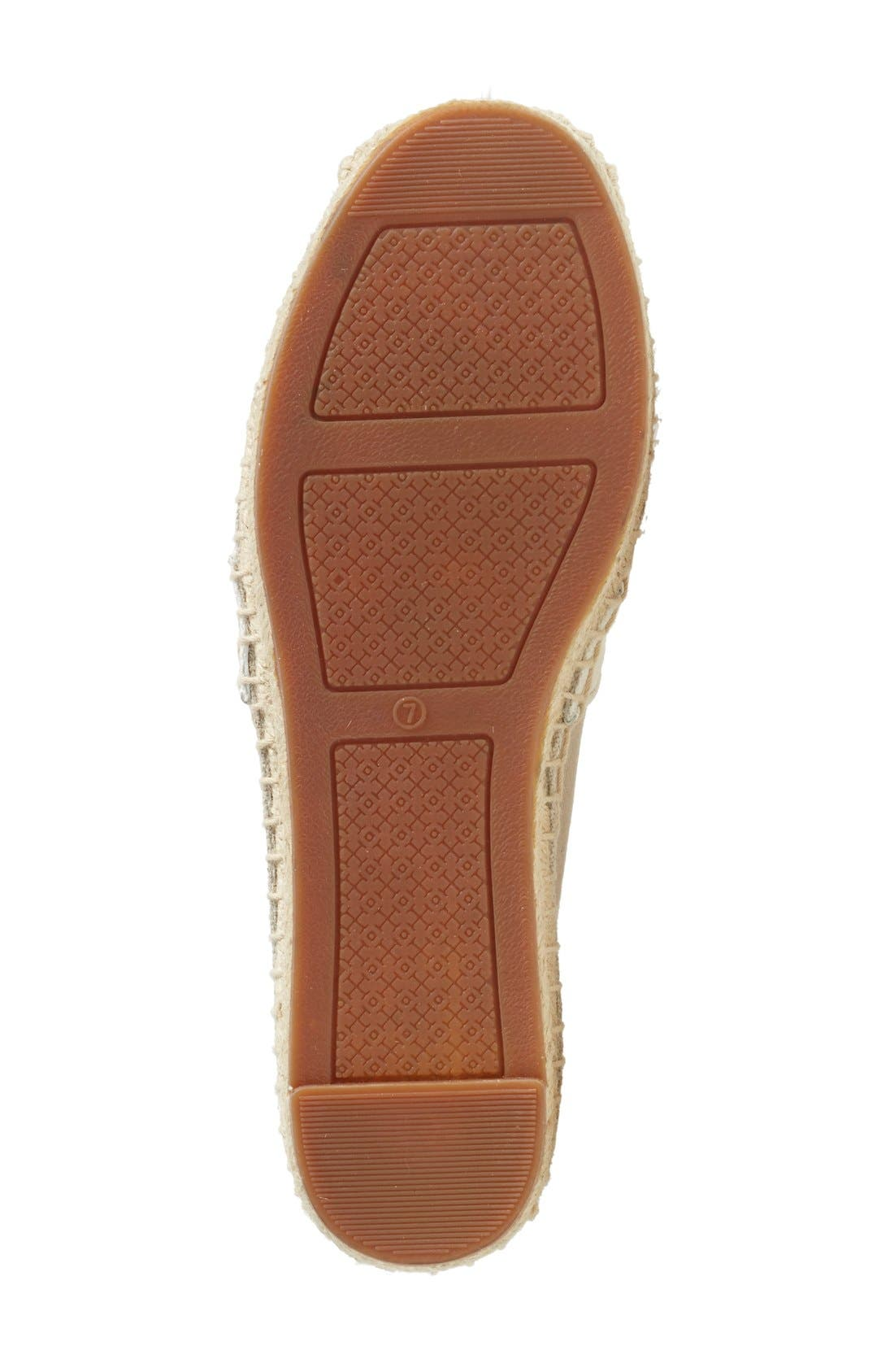 Alternate Image 4  - Tory Burch 'Lacey' Espadrille Flat (Women) (Nordstrom Exclusive)