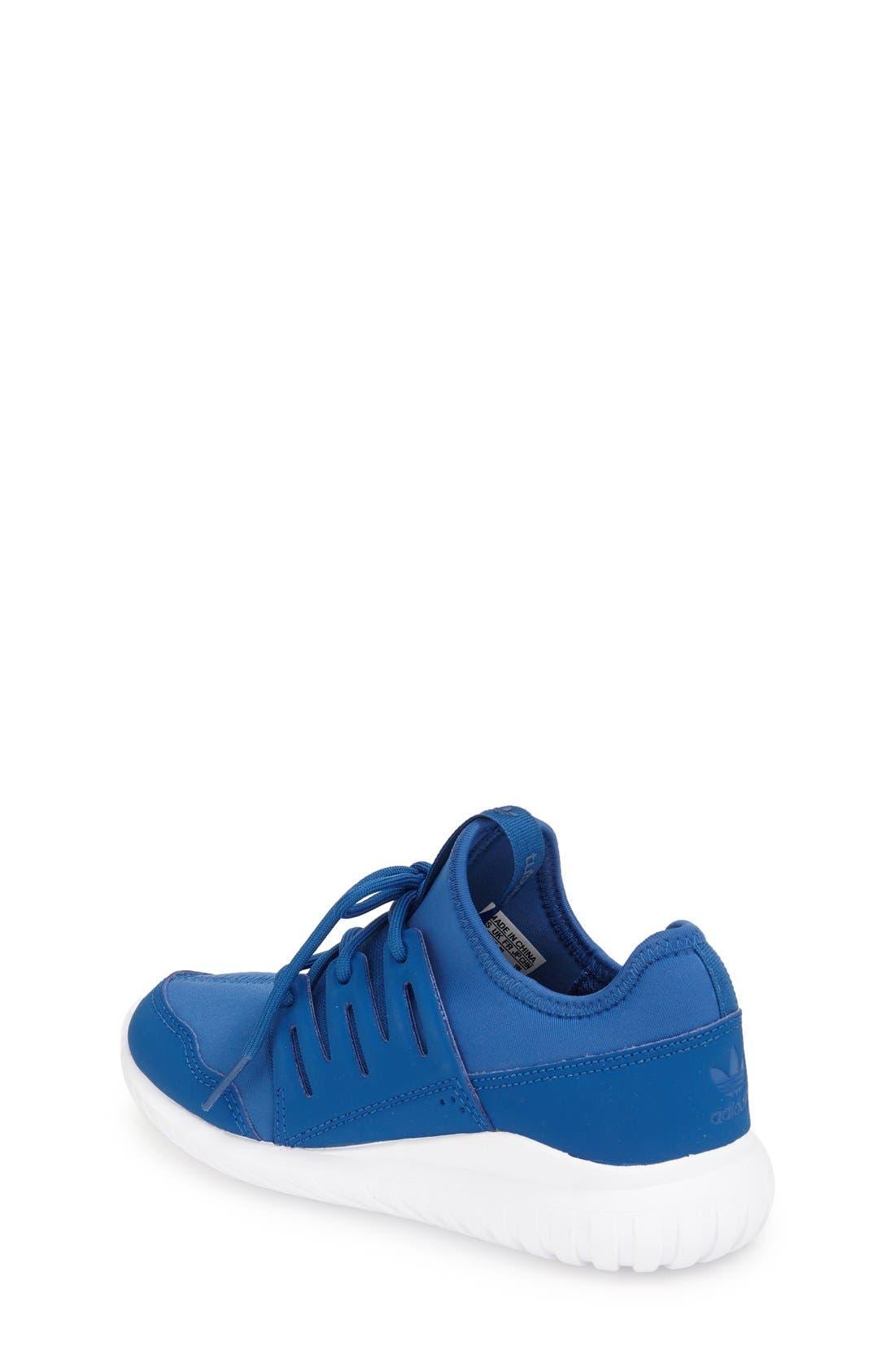 Alternate Image 2  - adidas 'Tubular Radial K' Sneaker (Toddler, Little Kid & Big Kid)