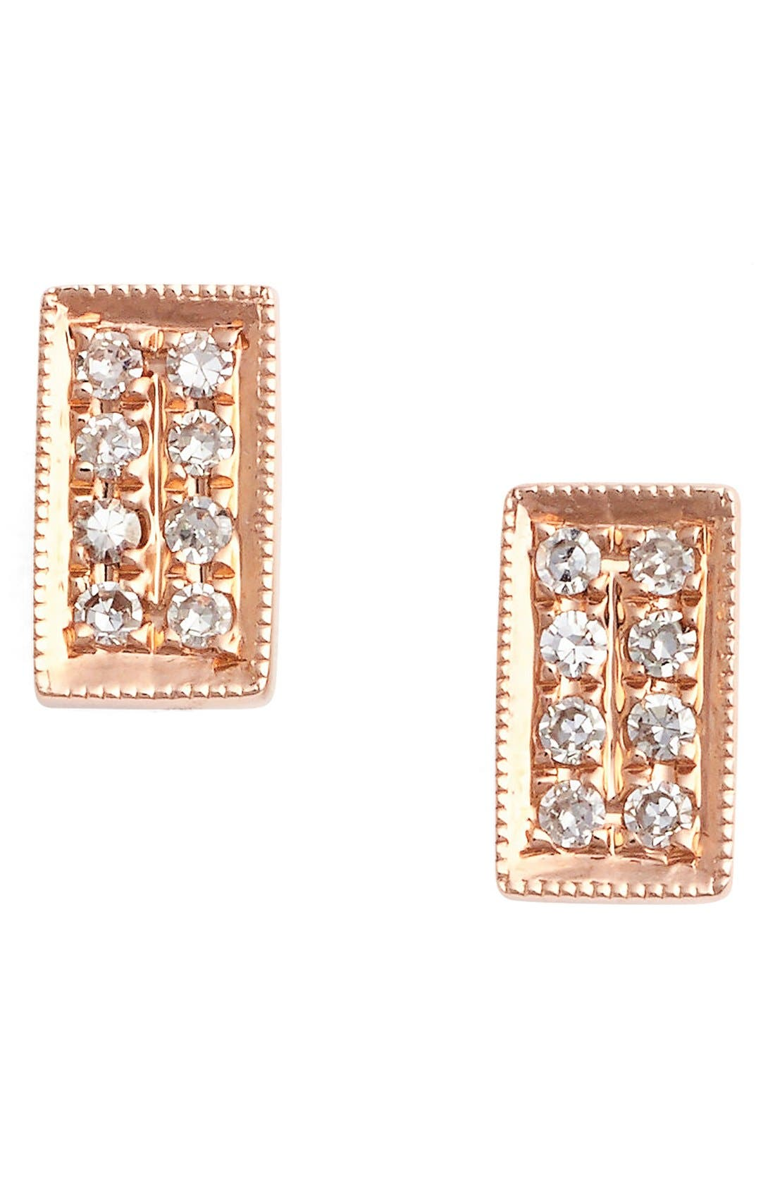 DANA REBECCA DESIGNS 'Katie' Diamond Stud Earrings