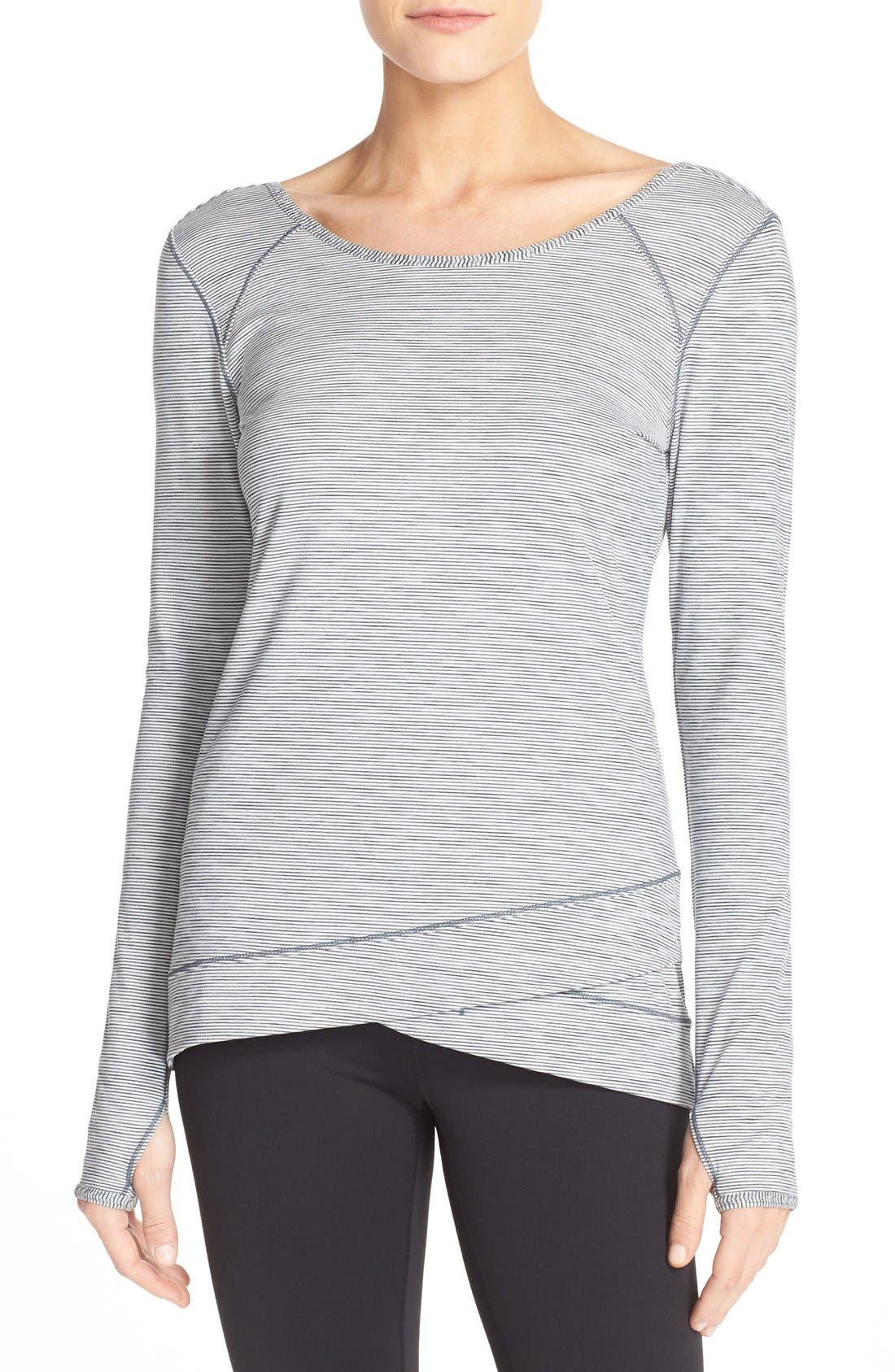 Alternate Image 1 Selected - Zella 'Layer Me' Pullover
