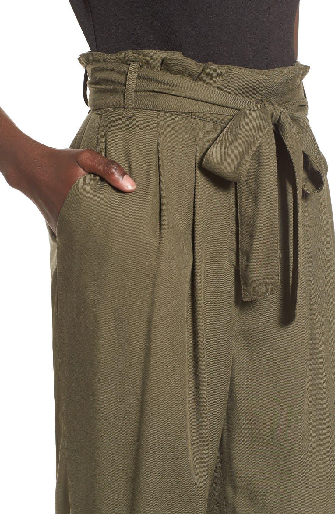 Alternate Image 4  - Leith Tie Waist Pants