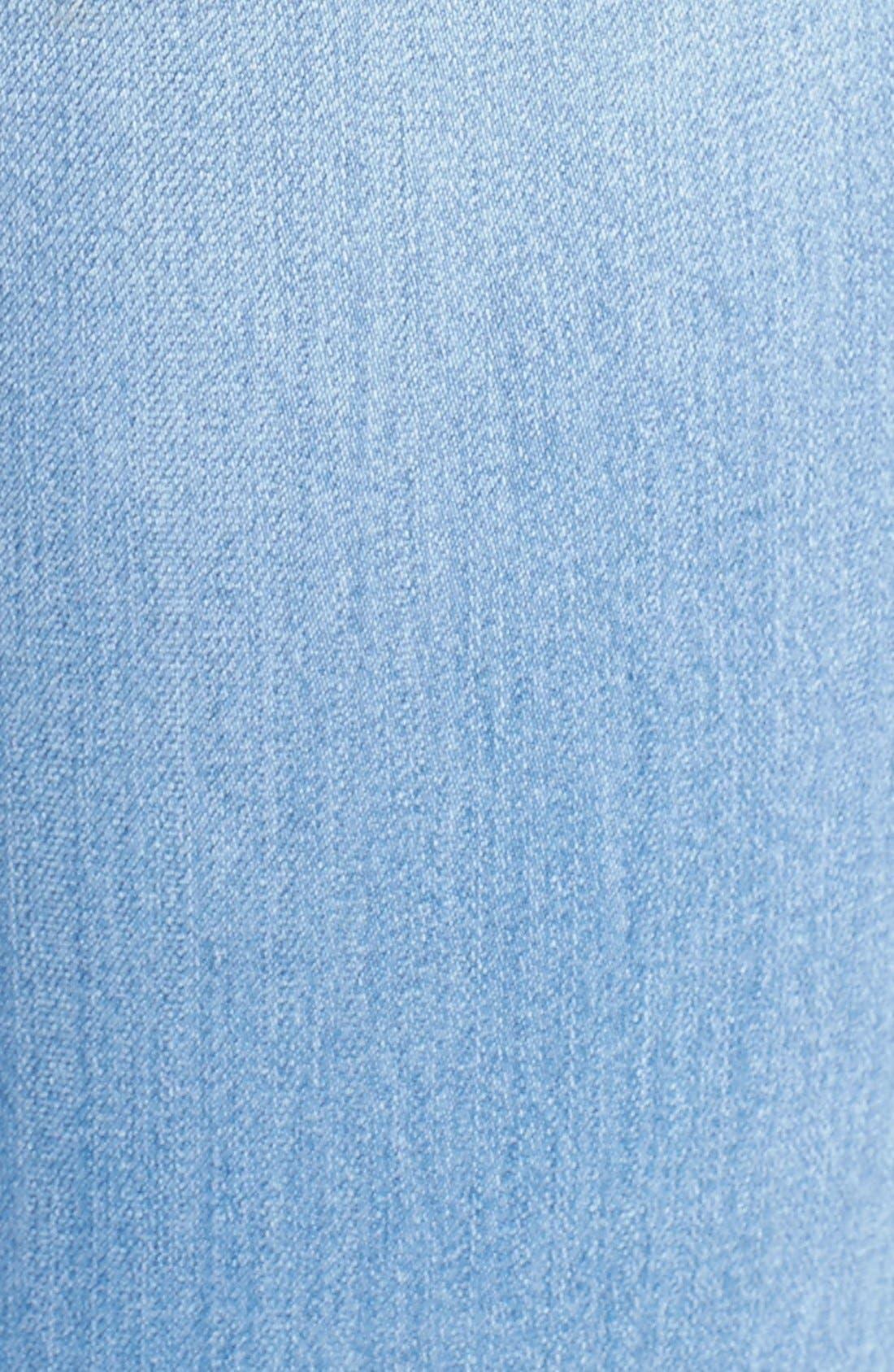 Alternate Image 5  - SP Black Destroyed Skinny Jeans