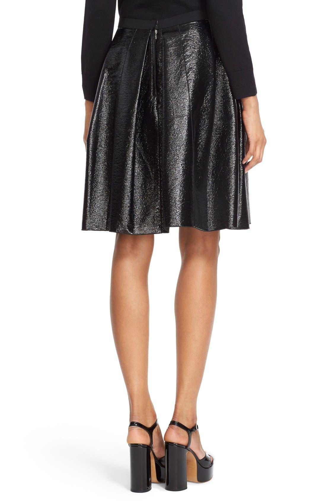 Alternate Image 2  - MARC JACOBS Pleated A-Line Skirt