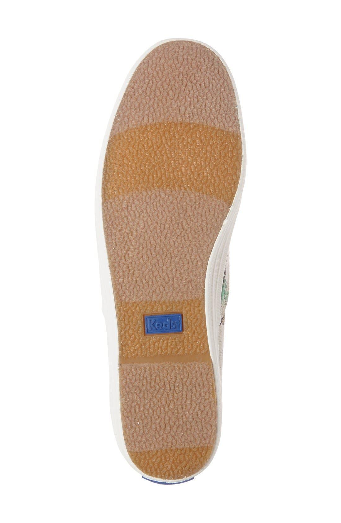 Alternate Image 4  - Keds® 'Champion' Print Sneaker (Women)