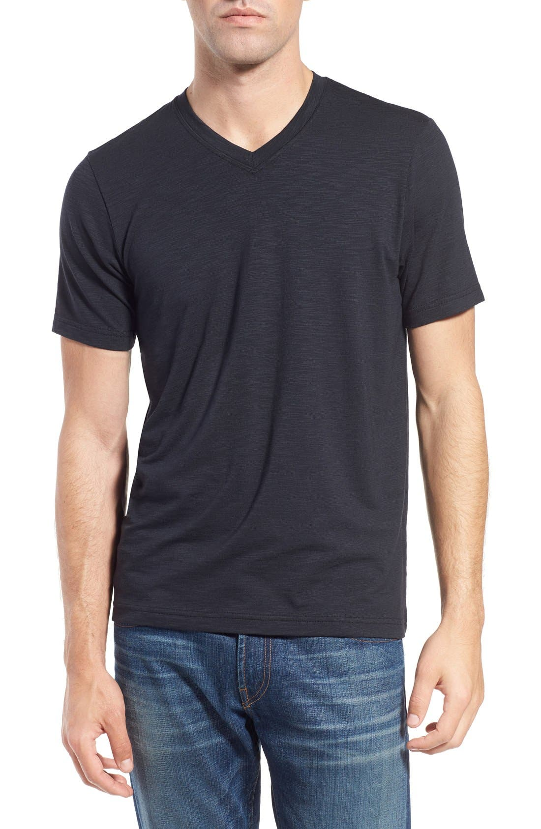 Travis Mathew 'Trumbull' Trim Fit Slubbed T-Shirt