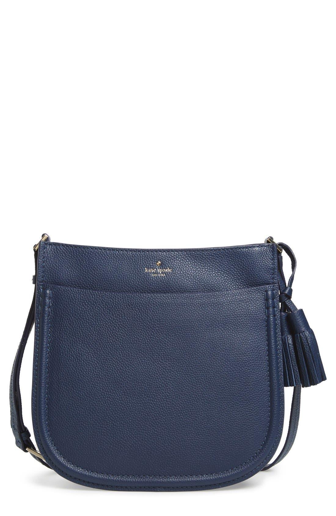 Main Image - kate spade new york 'orchard street - hemsley' leather shoulder bag