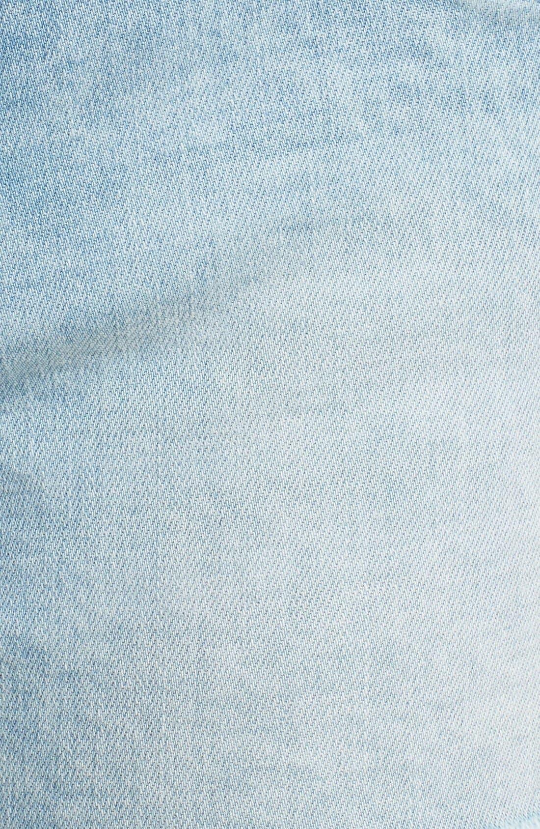 Alternate Image 5  - BLANKNYC 'Emoji Fatigue' Denim Cutoff Shorts