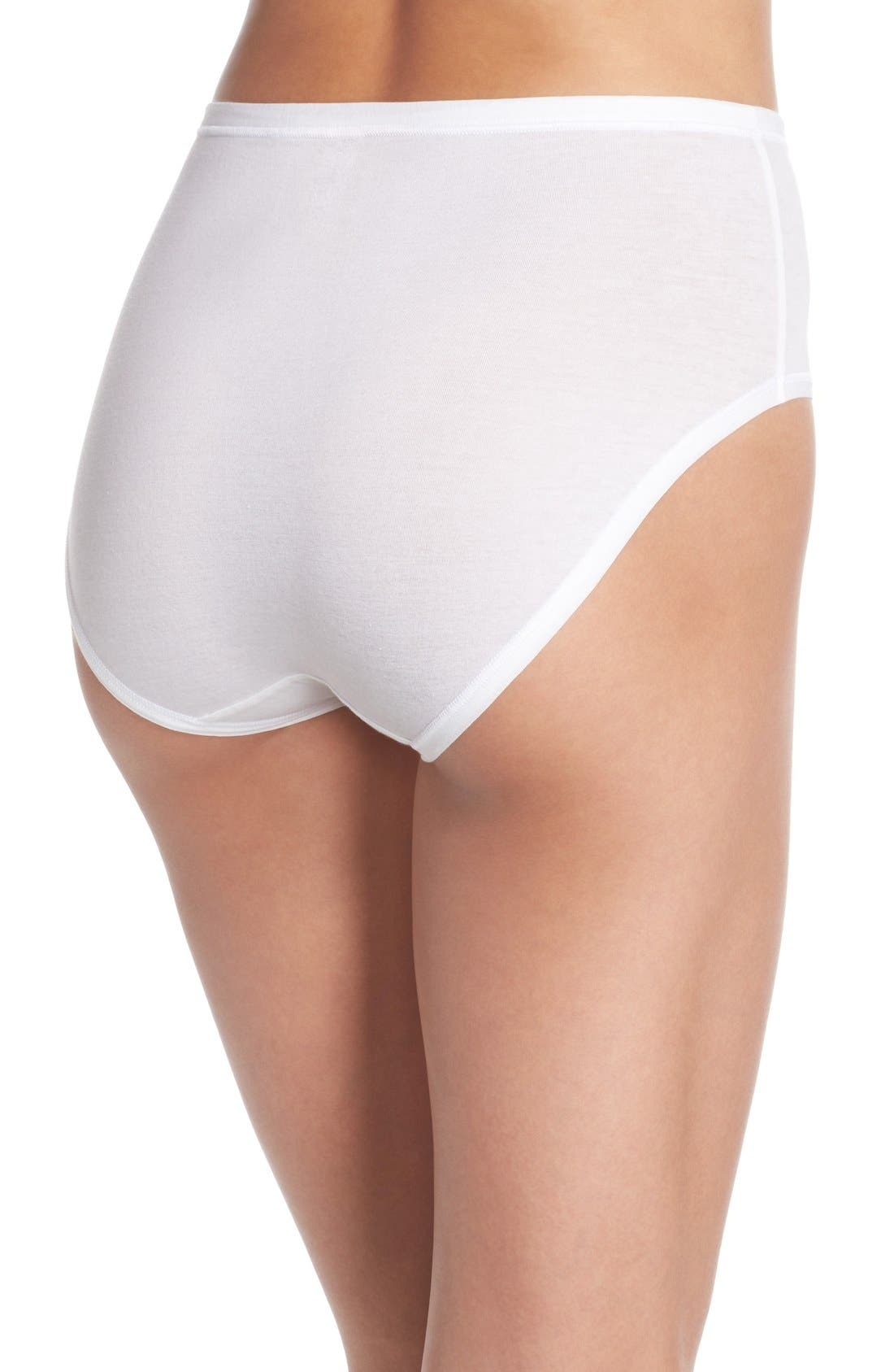Alternate Image 2  - Wacoal B Fitting High Cut Briefs (3 for $28)