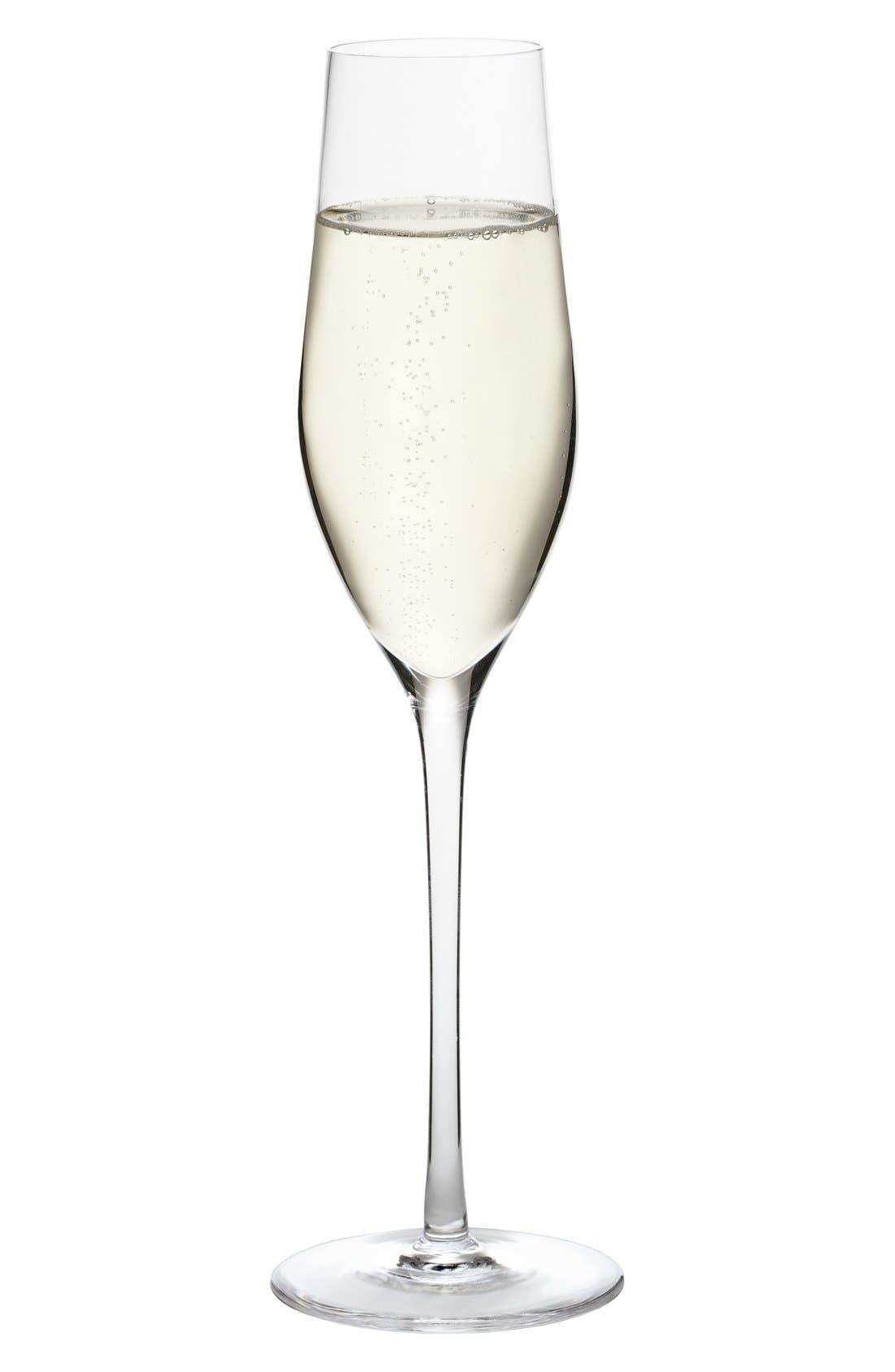 Alternate Image 1 Selected - Nordstrom at Home Ravenna Set of 4 Champagne Flutes