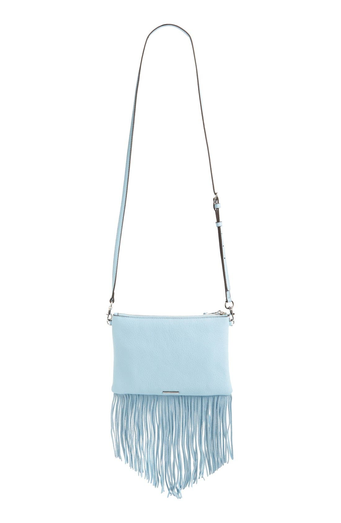 Alternate Image 4  - Rebecca Minkoff 'Fringe Jon' Leather Crossbody Bag