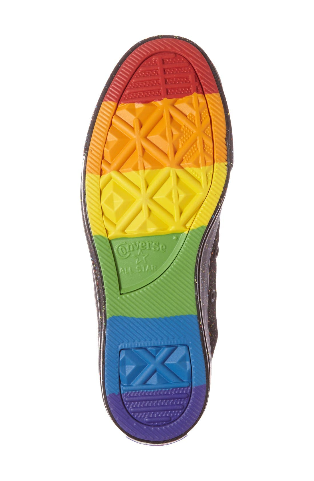 Alternate Image 4  - Converse Chuck Taylor® All Star® 'Pride' High Top Sneaker (Women)