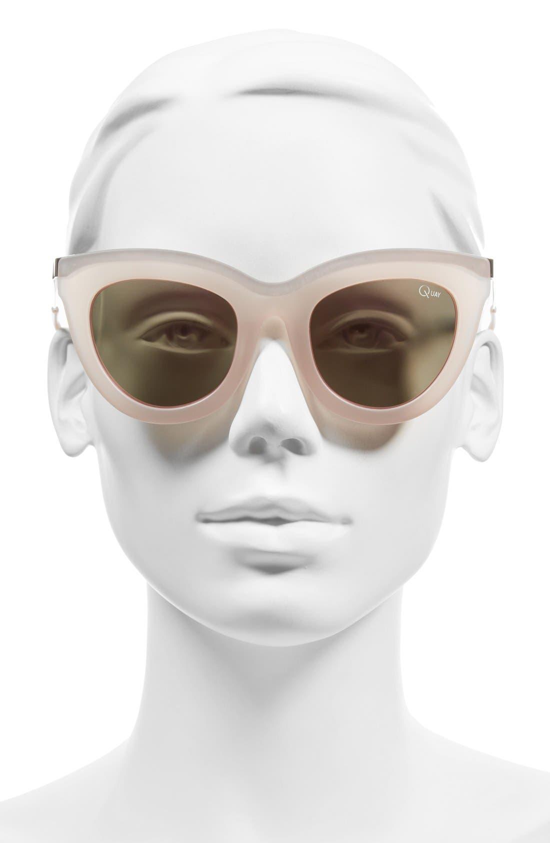 Alternate Image 2  - Quay Australia 'Eclipse' 49mm Cat Eye Sunglasses