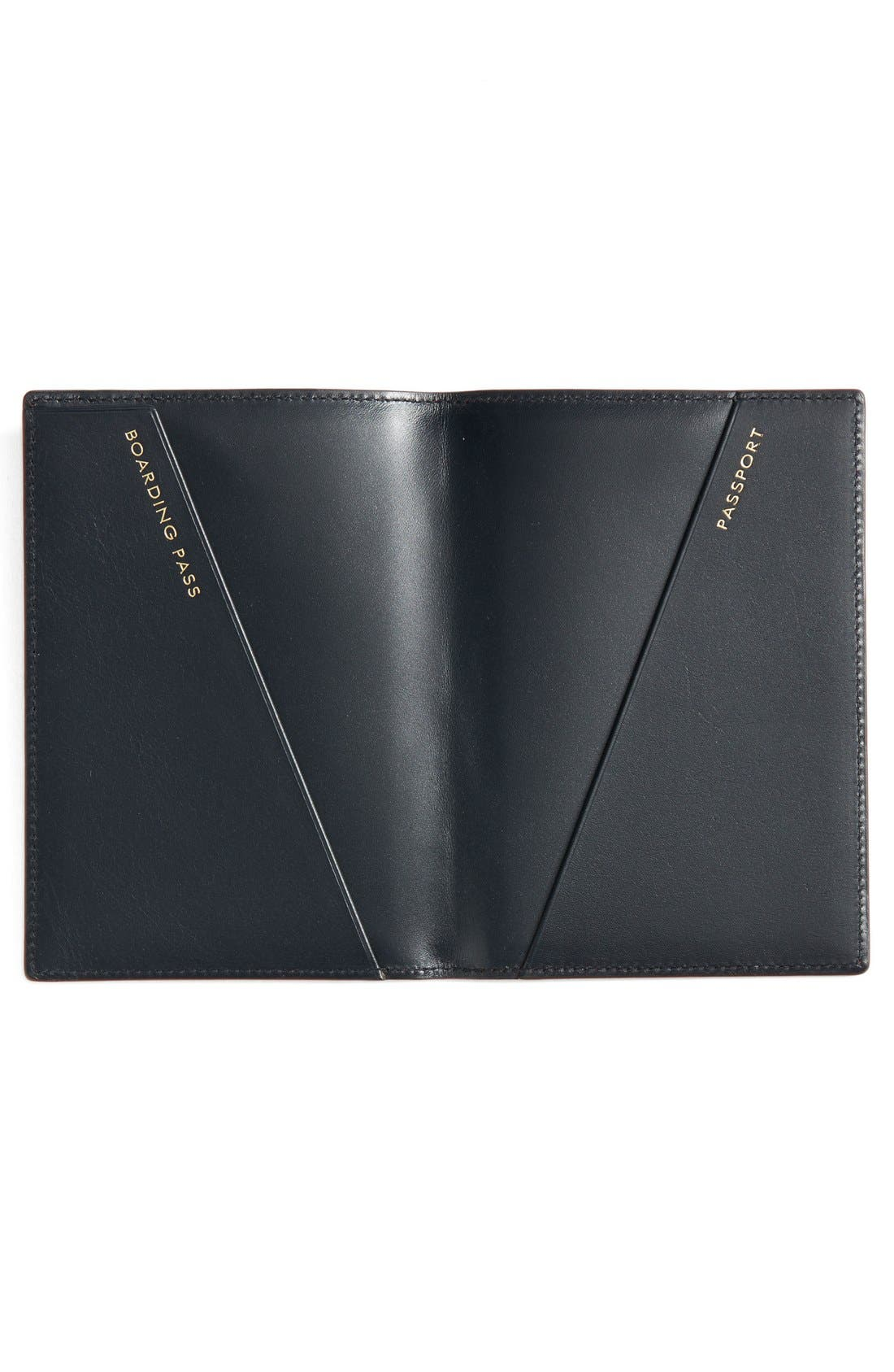 Alternate Image 3  - Smythson Leather Passport Cover