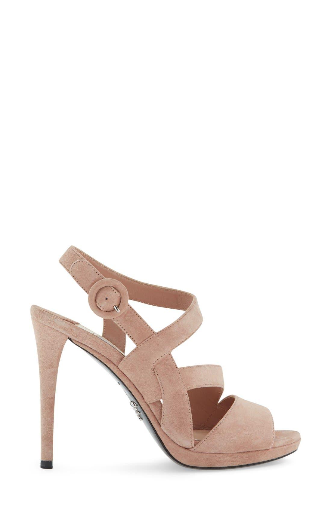 Alternate Image 4  - Prada Strappy Sandal (Women)