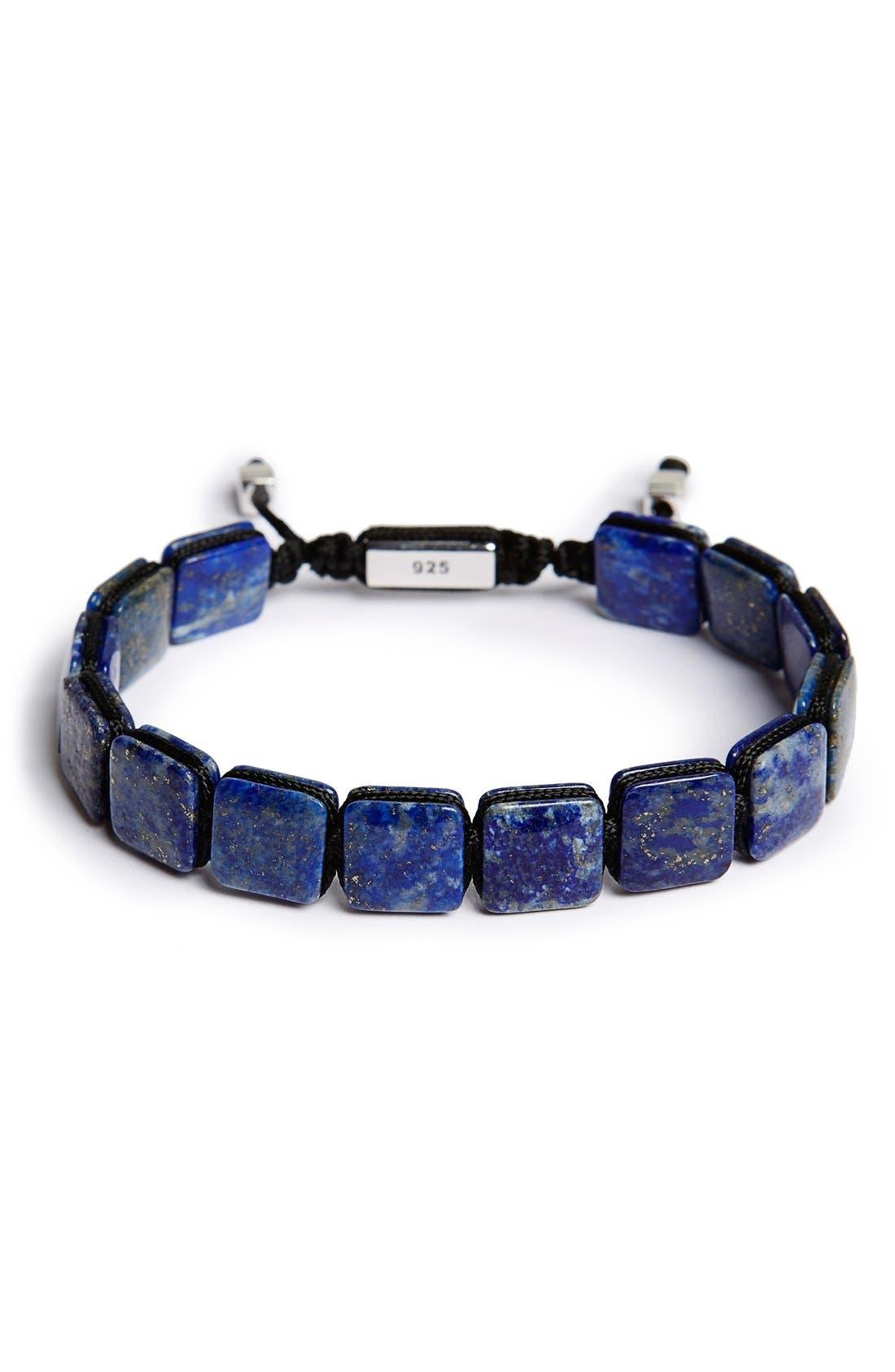 Alternate Image 1 Selected - Jan Leslie Lapis Lazuli Bead Bracelet