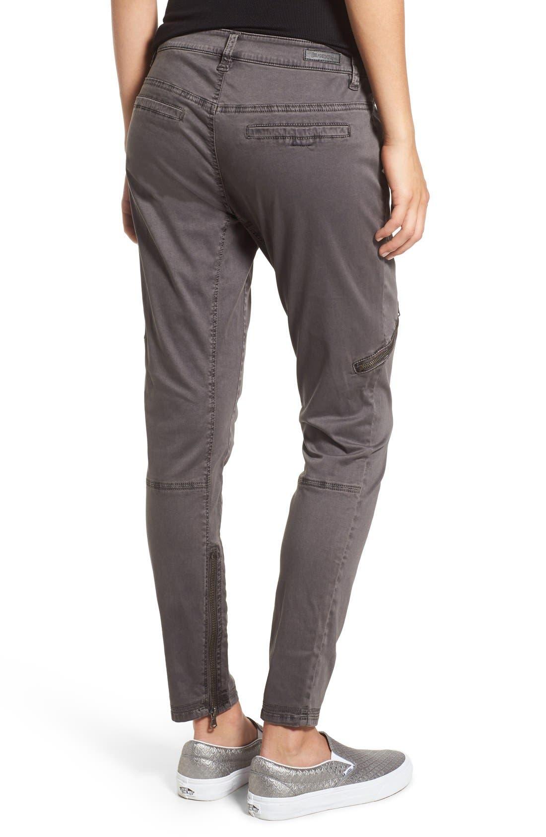 Alternate Image 2  - BLANKNYC Moto Utility Pants