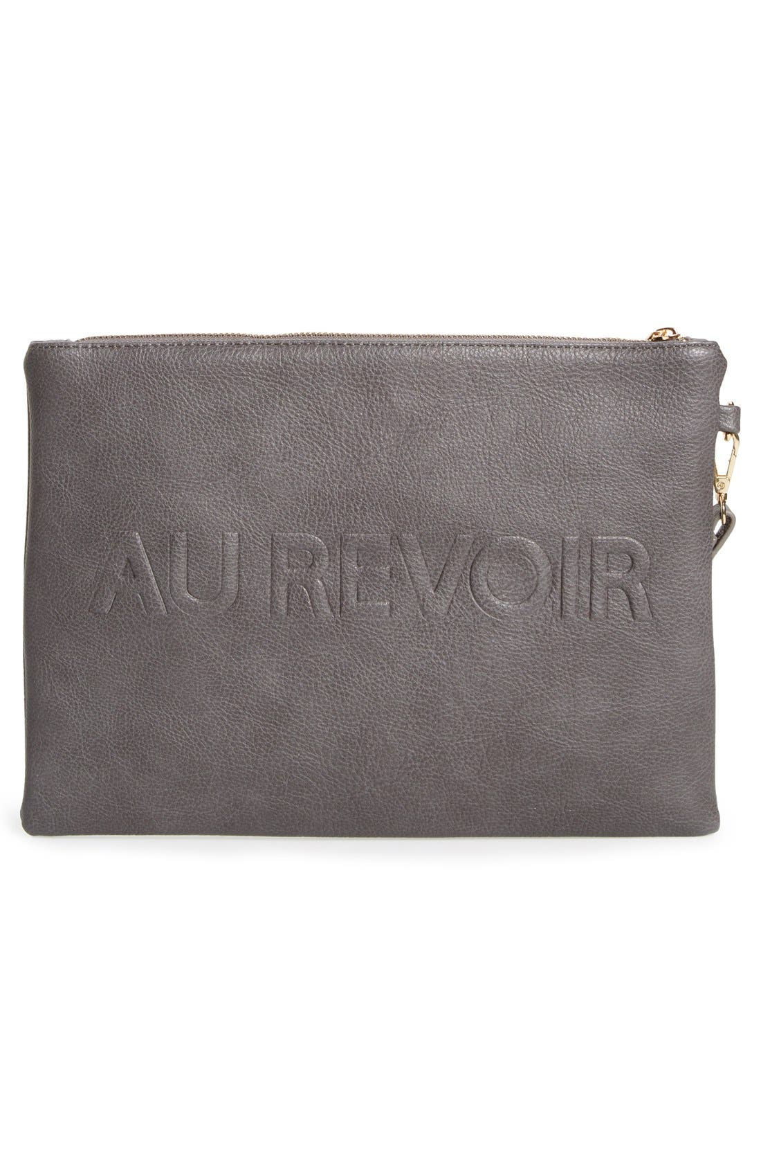 Alternate Image 3  - Sole Society 'Justine - Conversation' Oversize Clutch