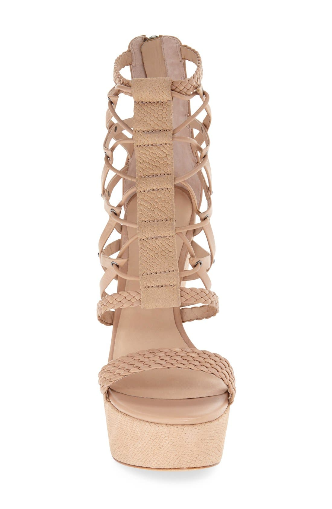 Alternate Image 3  - L.A.M.B. 'Omega' Wedge Sandal (Women)