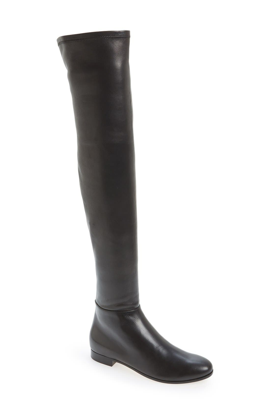 Alternate Image 1 Selected - Jimmy Choo 'Myren' Over the Knee Boot (Women)