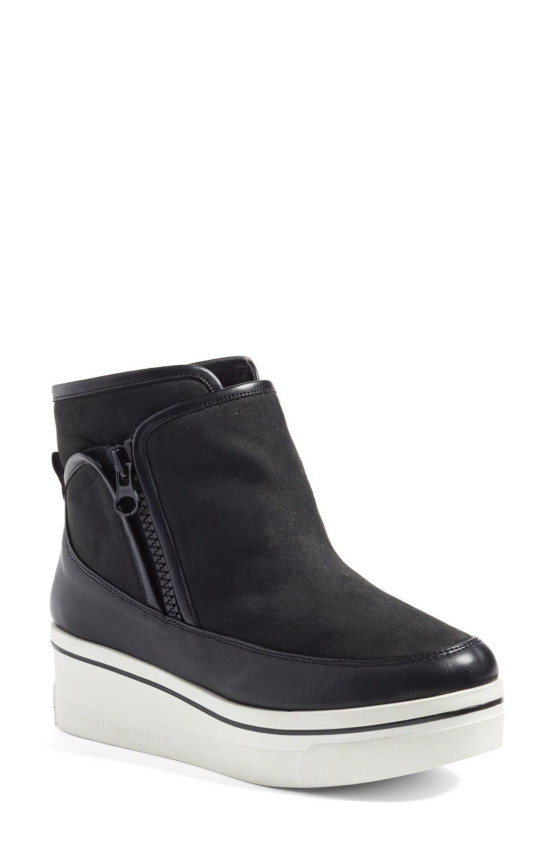 Stella McCartney 'Binx' High Top Platform Sneaker (Women)