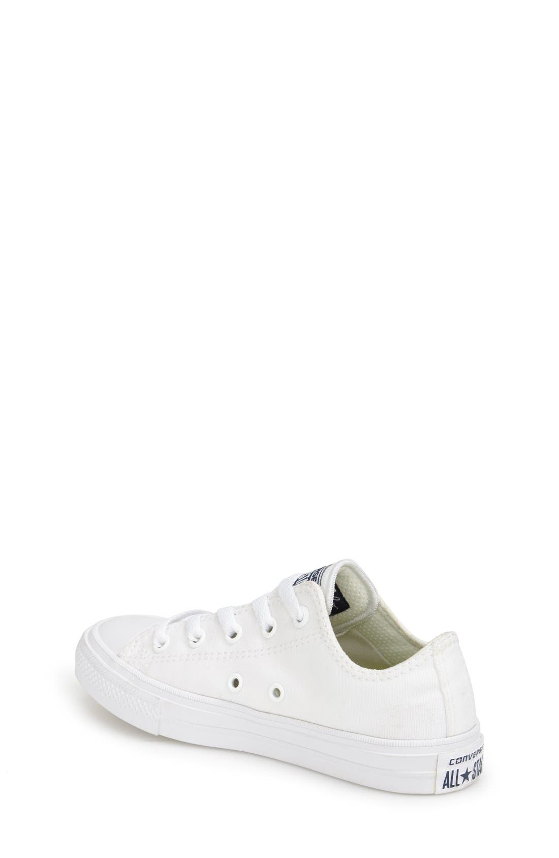Alternate Image 2  - Converse Chuck Taylor® All Star® II Ox Low Top Sneaker (Walker, Toddler, Little Kid & Big Kid)