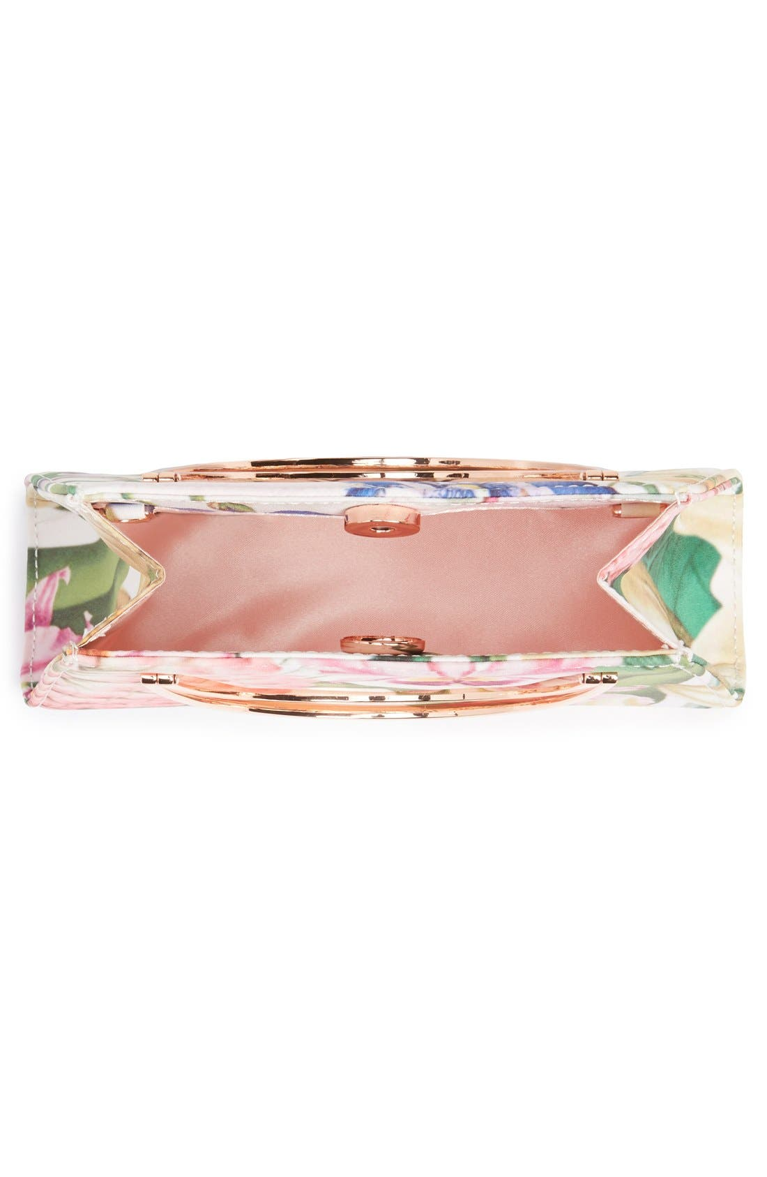 Alternate Image 4  - Ted Baker London 'Encyclopedia' Handle Clutch