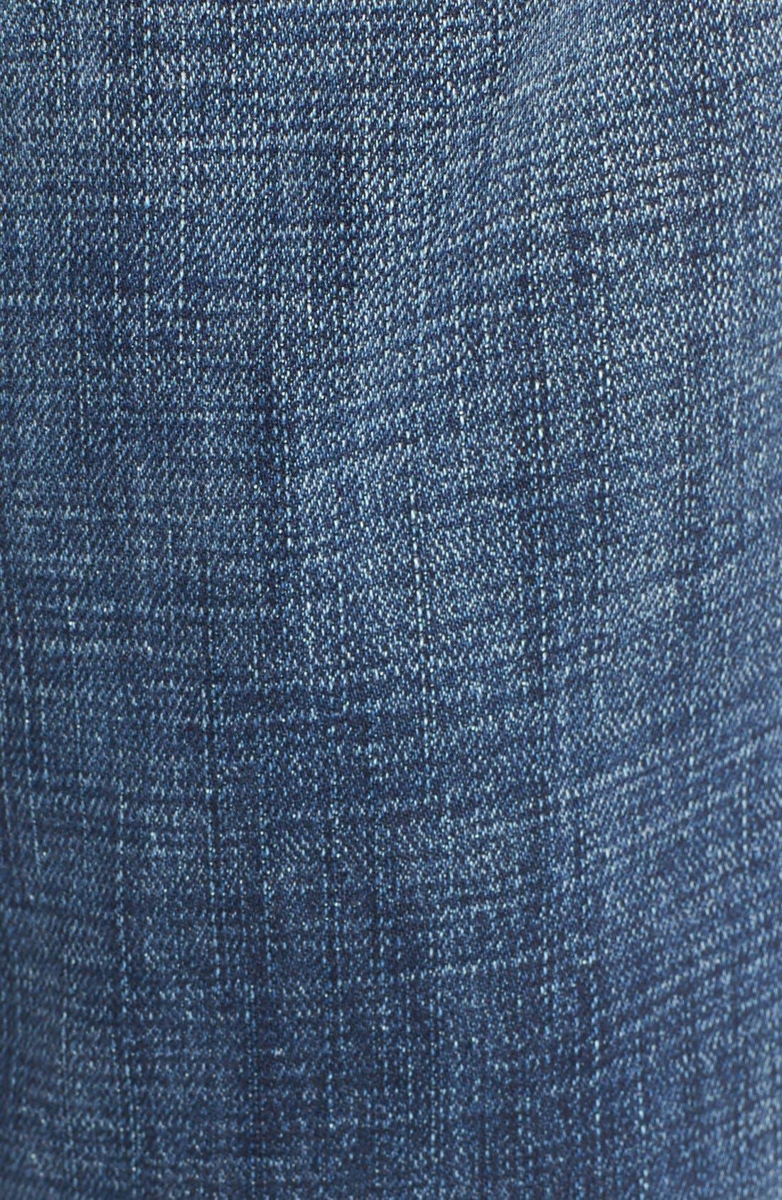 Alternate Image 5  - Treasure&Bond Ankle Boyfriend Jeans (Rustic Dusk Destroy)