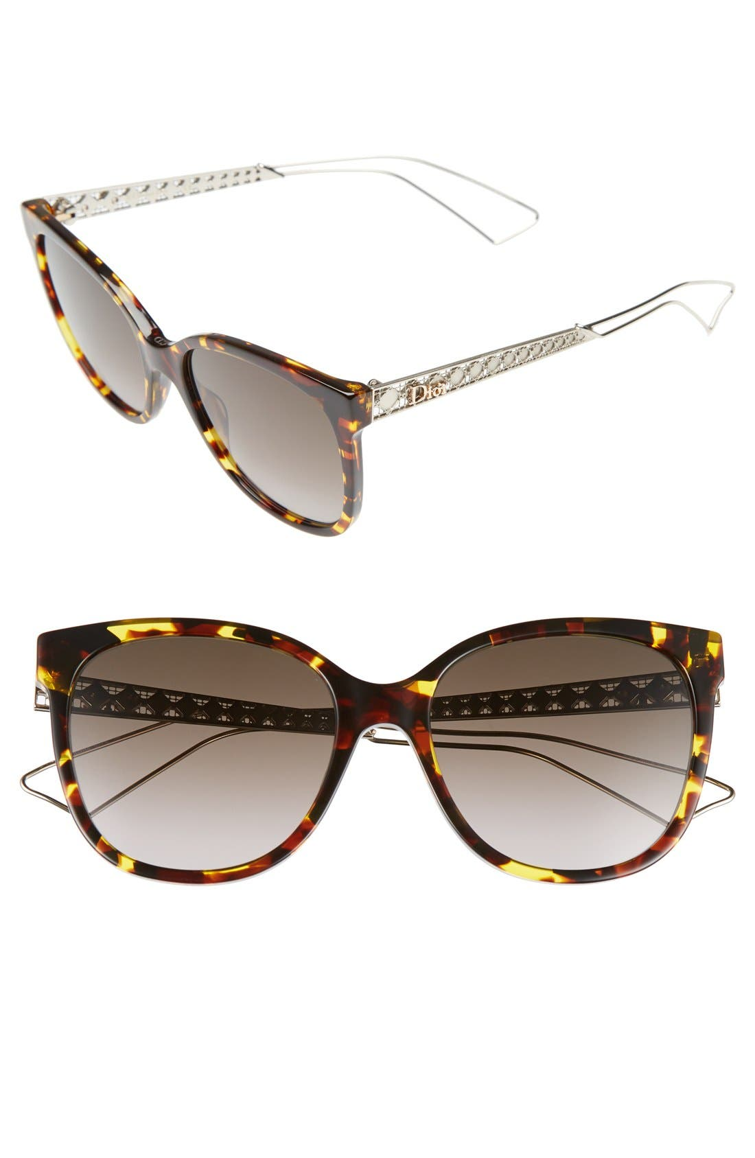 Diorama 3 55mm Cat Eye Sunglasses
