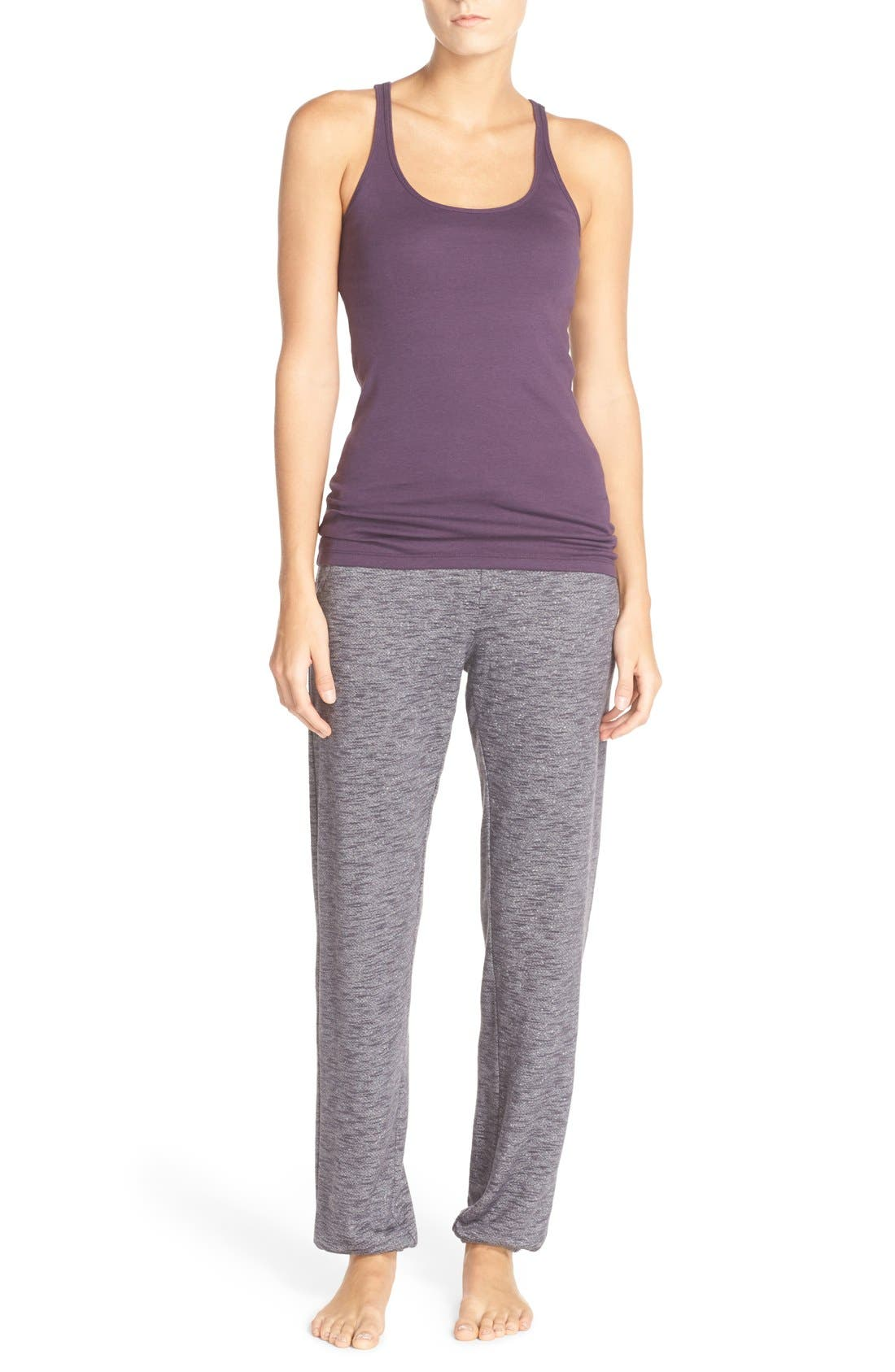 Alternate Image 7  - Nordstrom Lingerie Jogger Sweatpants