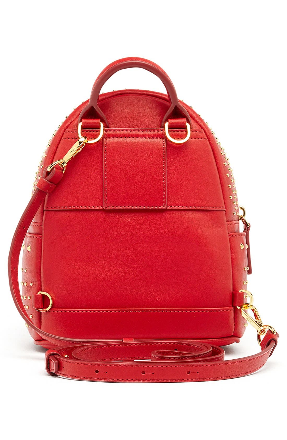 Alternate Image 2  - MCM 'X Mini Stark - Bebe Boo' Studded Leather Backpack