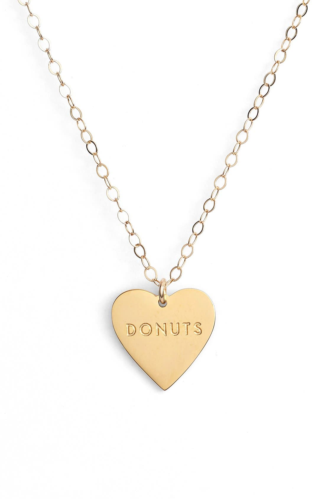 Main Image - Seoul Little 'Donuts' Charm Pendant Necklace