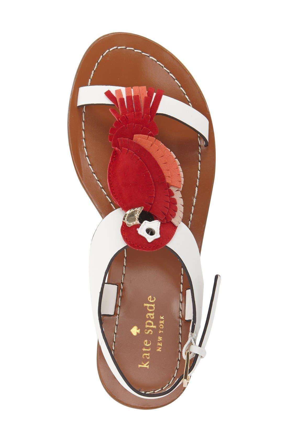 Alternate Image 3  - kate spade new york 'charlie' sandal (Women)