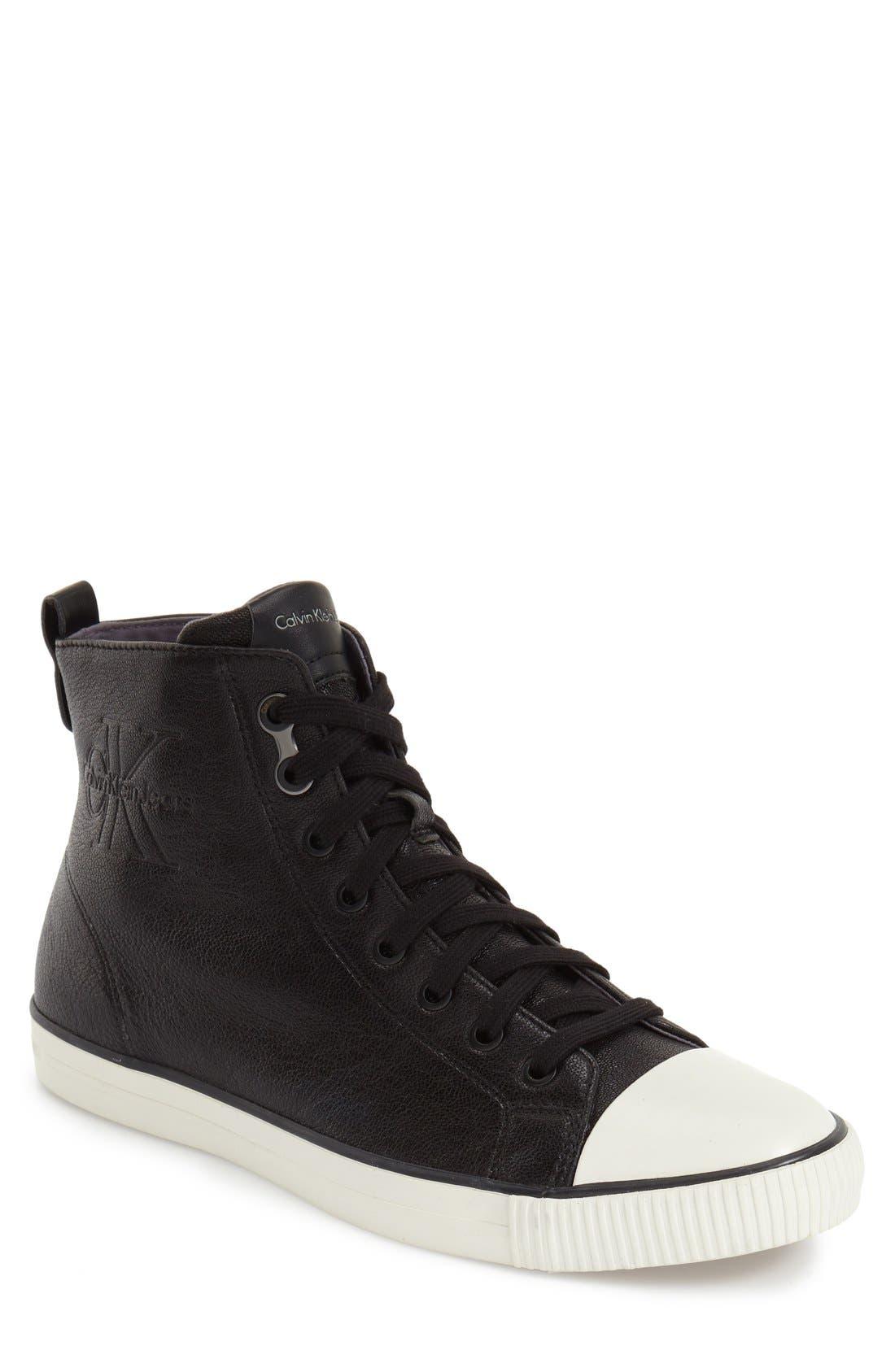 CALVIN KLEIN JEANS 'Aron' High Top Sneaker