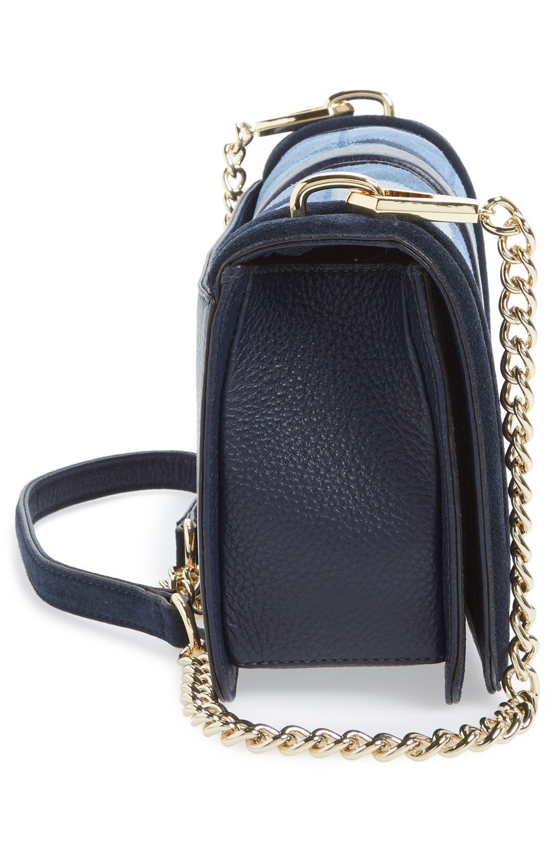 Alternate Image 5  - Rebecca Minkoff 'Love' Patchwork Leather Crossbody Bag