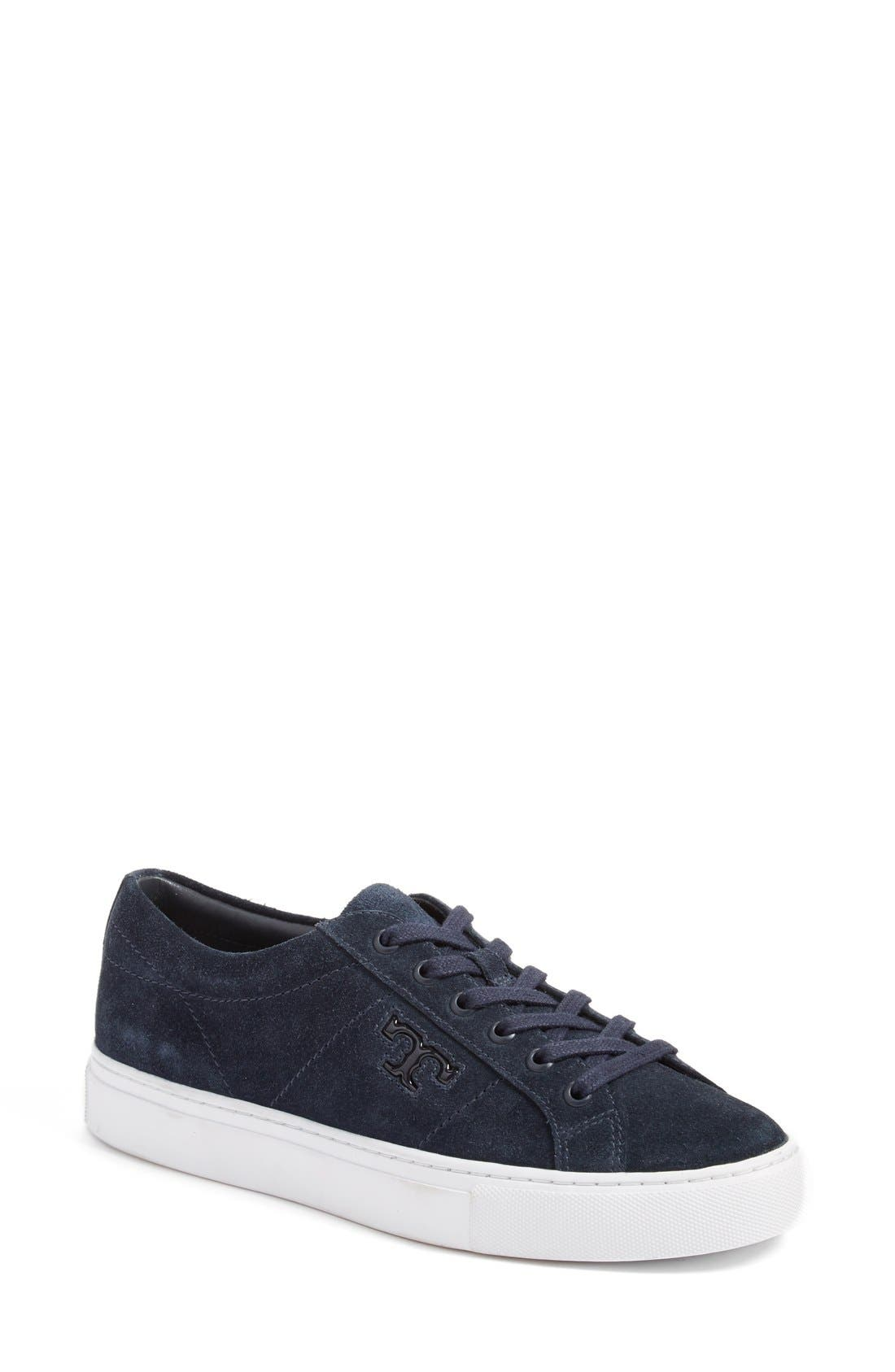 Alternate Image 1 Selected - Tory Burch 'Chace' Low Top Sneaker (Women)