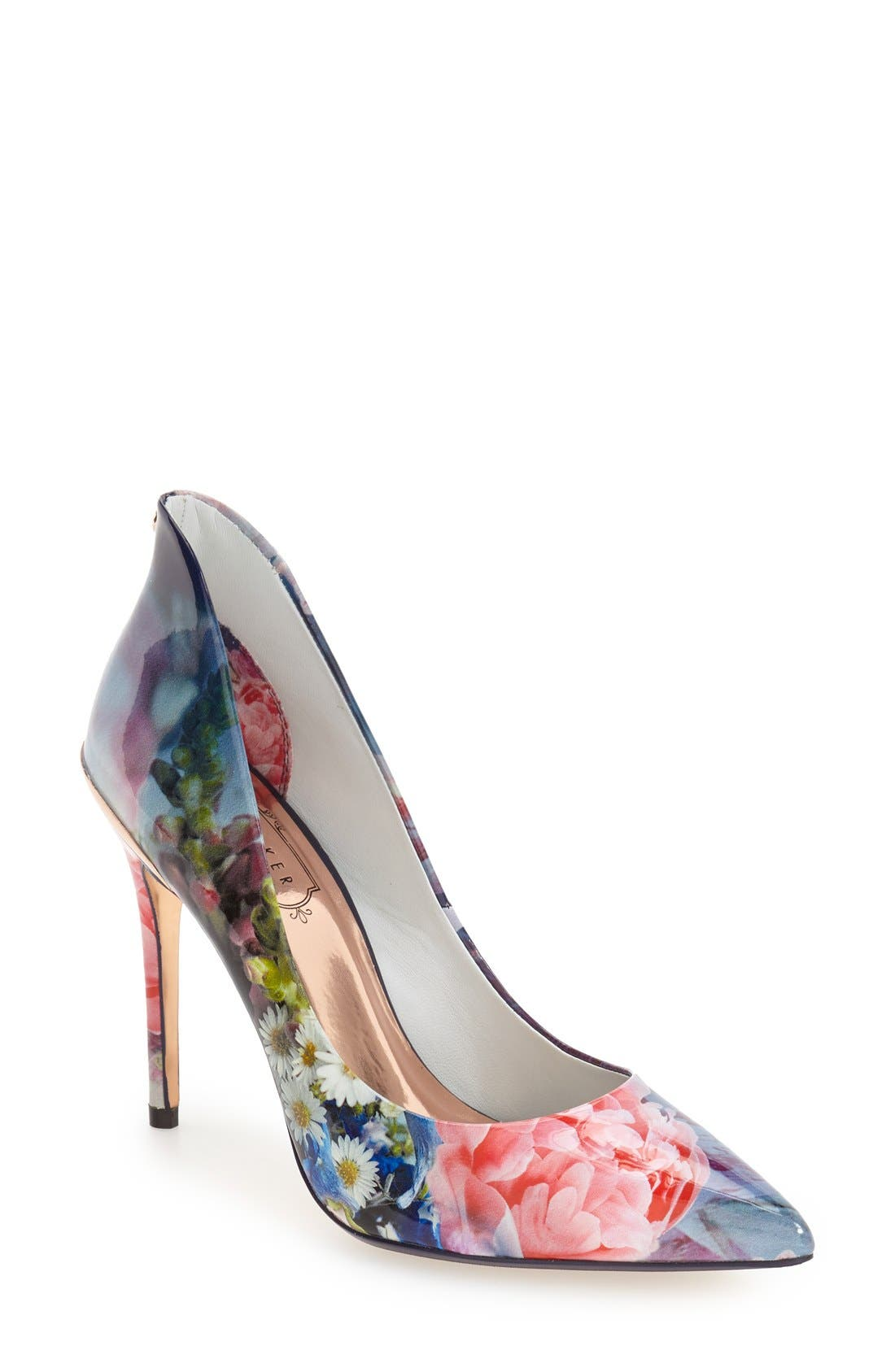 Alternate Image 1 Selected - Ted Baker London 'Savenniers 2' Pointy Toe Pump (Women)