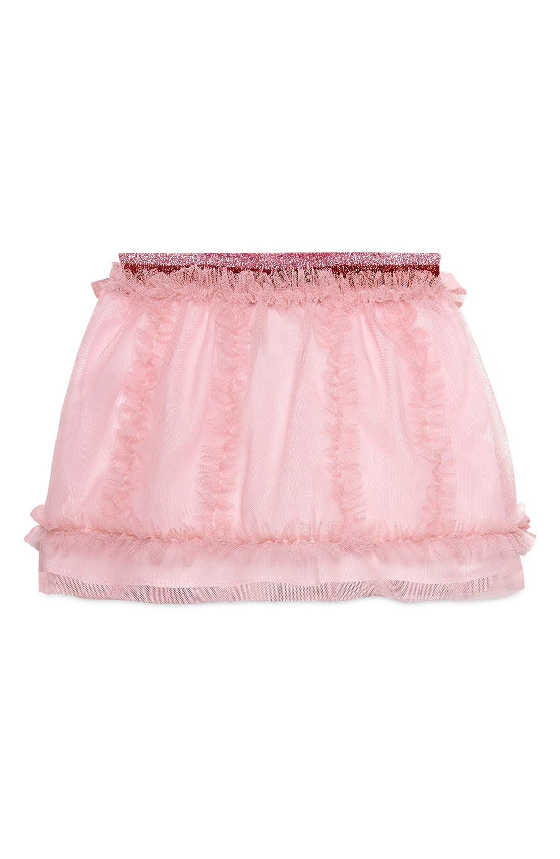 GUCCI Ruffle Accent Skirt