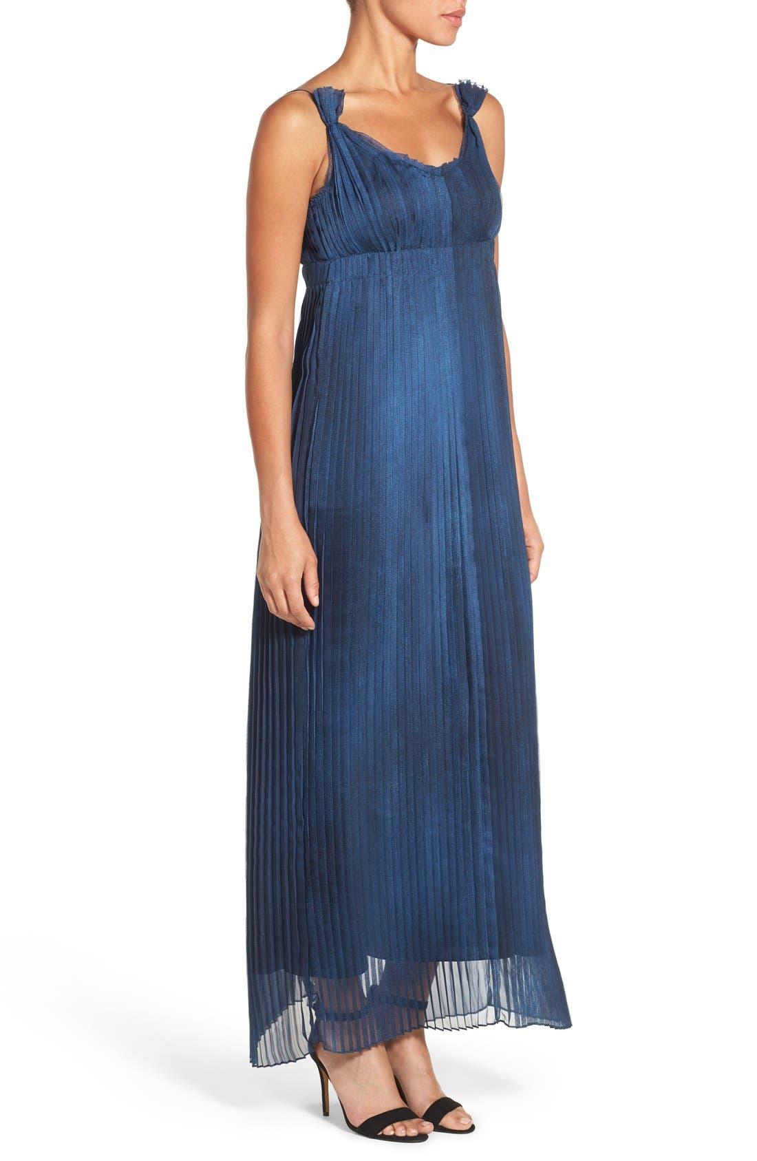 Alternate Image 3  - Elie Tahari 'Opal' Pleated Maxi Dress