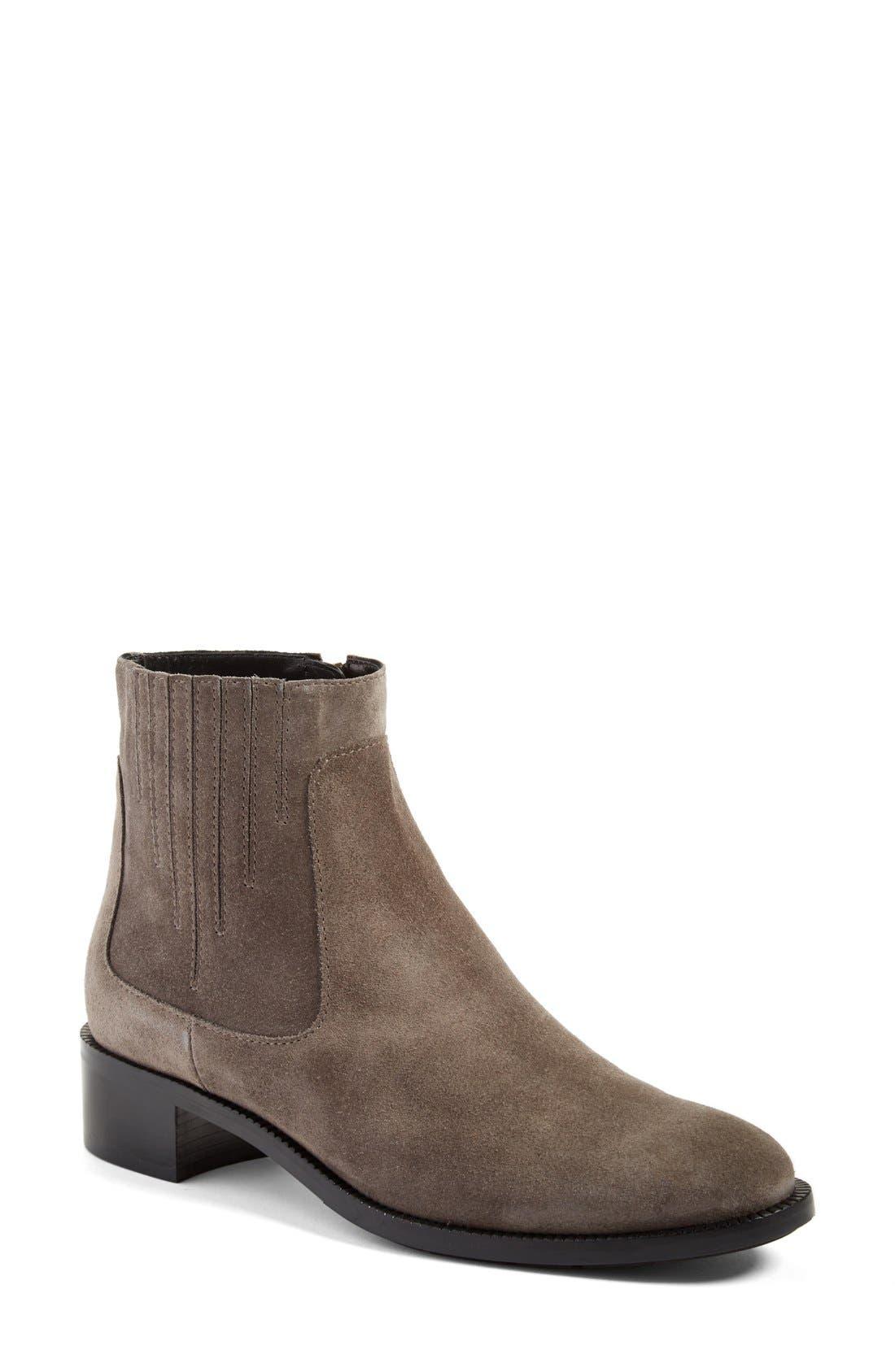 Main Image - Aquatalia 'Oribella' Weatherproof Leather Bootie (Women)